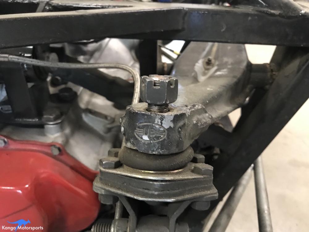 Kanga Motorsports Spec Racer Ford Gen3 New Tubular Rocker Install Remove Ball Joint Castle Nut.JPG