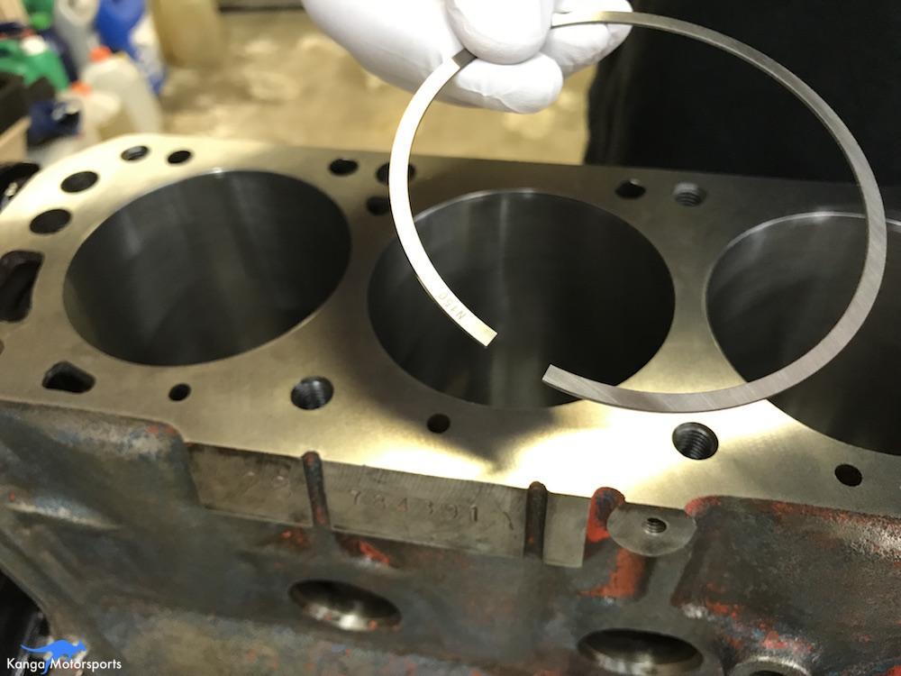 Kanga Motorsports Datsun 240z Engine Build Piston Ring Gap Detail.JPG