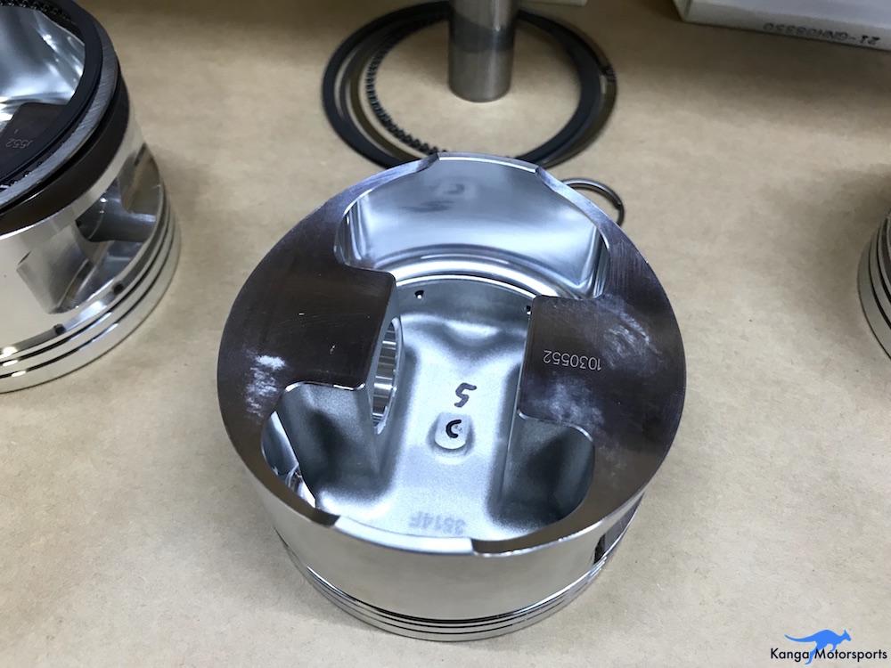 Kanga Motorsports Datsun 240z Engine Build Piston Balancing Piston Before Modifications.JPG