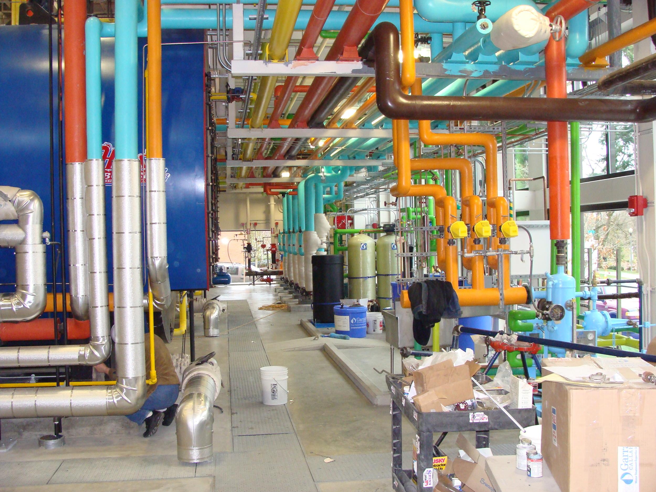 Multi-Care Boiler Plant - Tacoma, WA