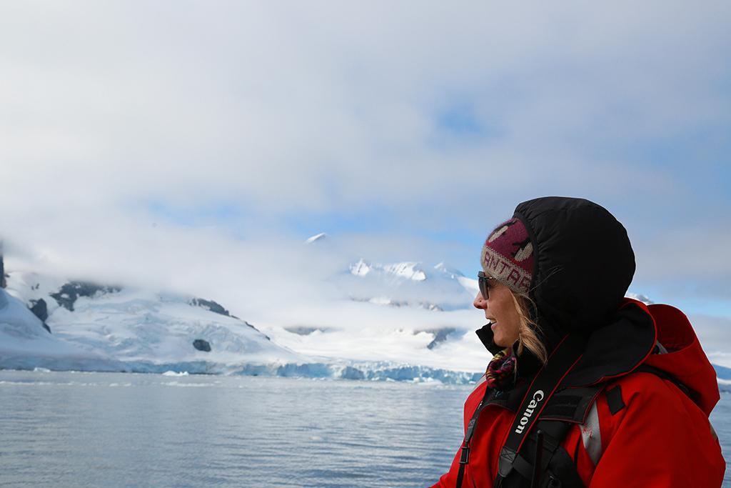 Working in Antarctica, 2017.