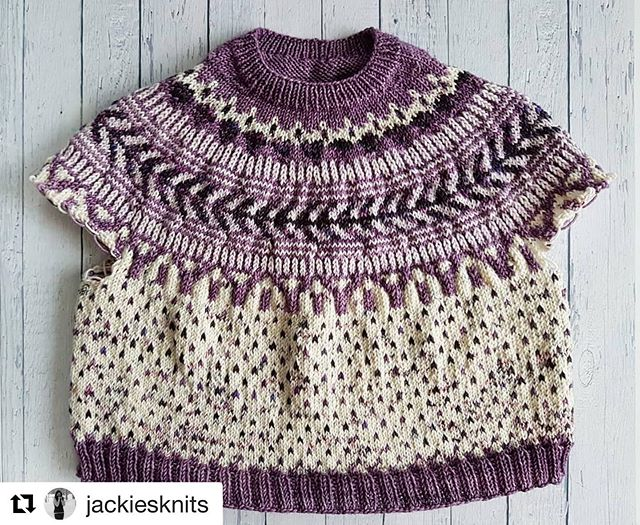 Absolutely in LOVE with this #Soldotna by @jackiesknits !! She used one of our OOAK kits.  It's got me itching to cast on a third!  #Repost @jackiesknits with @get_repost ・・・ And just like that, the body is finished!! Finally able to try it on and it fits perfectly 💜. Words can't express how proud I am and how much I love this sweater!!! Now onto the sleeves, which I'm actually looking forward to, since they're just 6 rows of ribbing each! Woohoo!! . Happy Friday, everyone!!! . . #jackiesknits #cropitkal #soldotnacrop #boylandknitworks #myboylandknit  #memade #memademay #memademay2019 #2019makenine #knitwear #slowfashion #knitlife #knitstagram #instaknit #iloveknitting #nevernotknitting #knittingisthenewyoga #makerlifehappylife #calledtocreate #artastherapy #makingismytherapy #makingsavesme #makeallthethings #handmade #handmadeisbetter