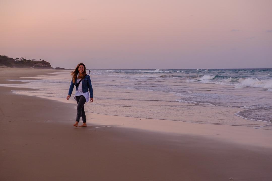 Sunshine Coast Beach Sunset
