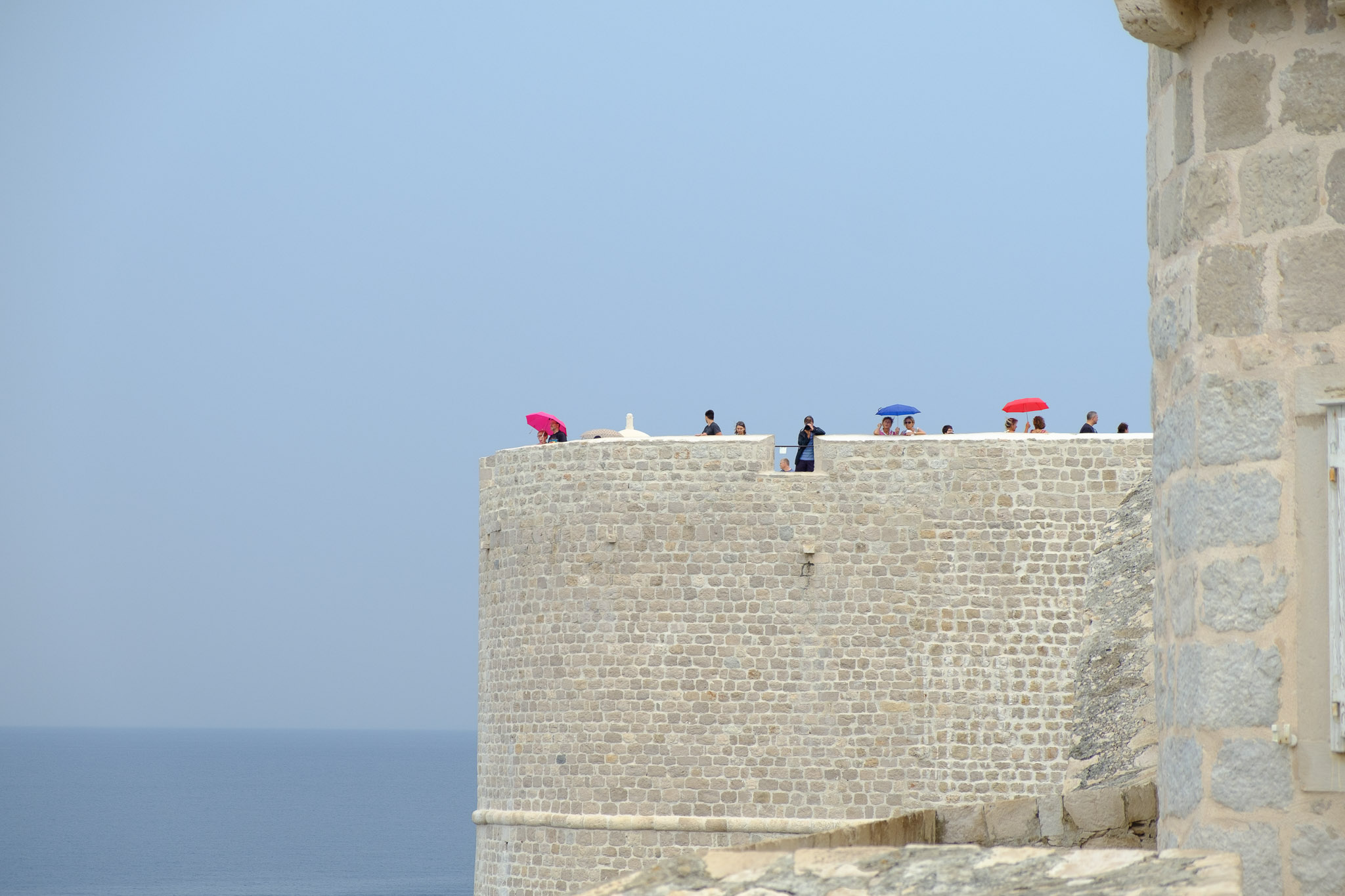 Dubrovnik. The Old Town Wall
