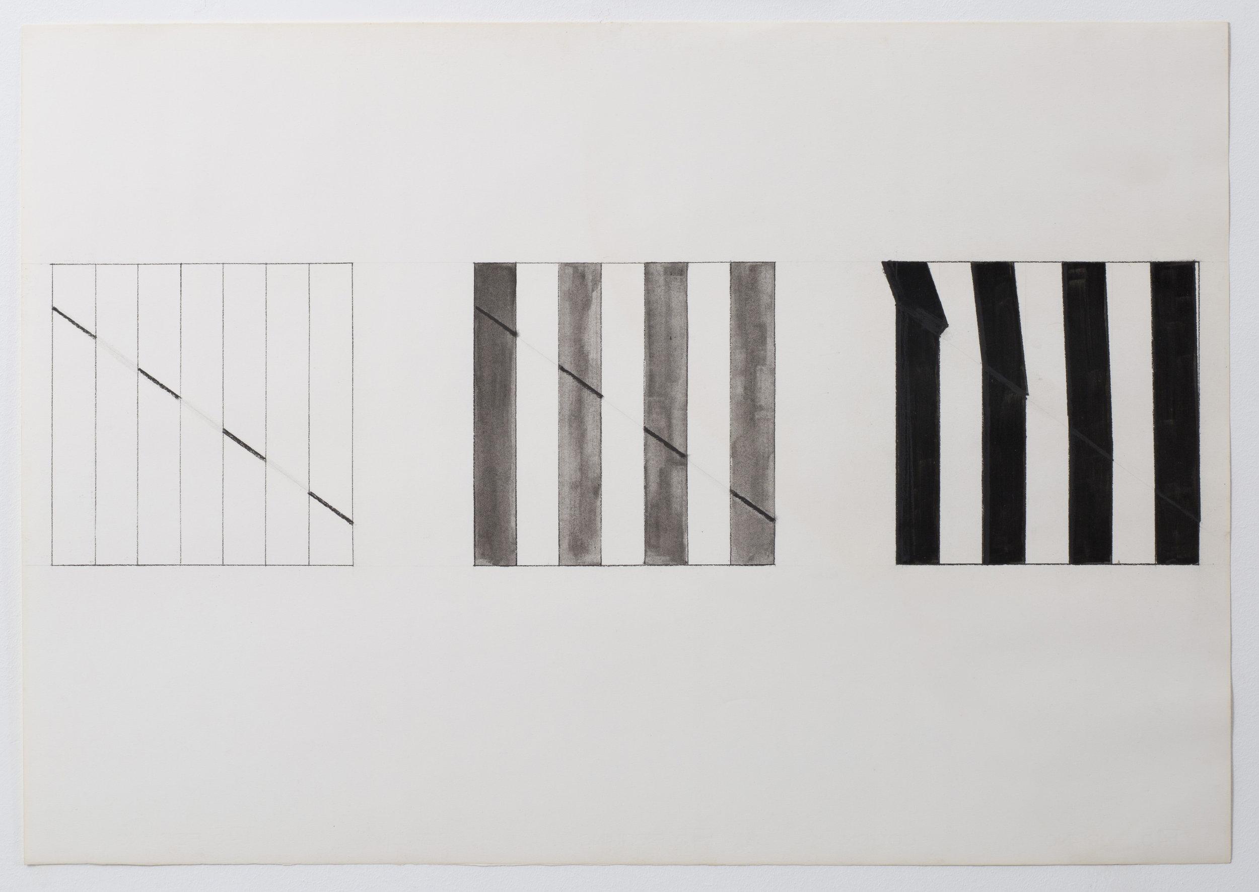 Studio per diagonale - 1975