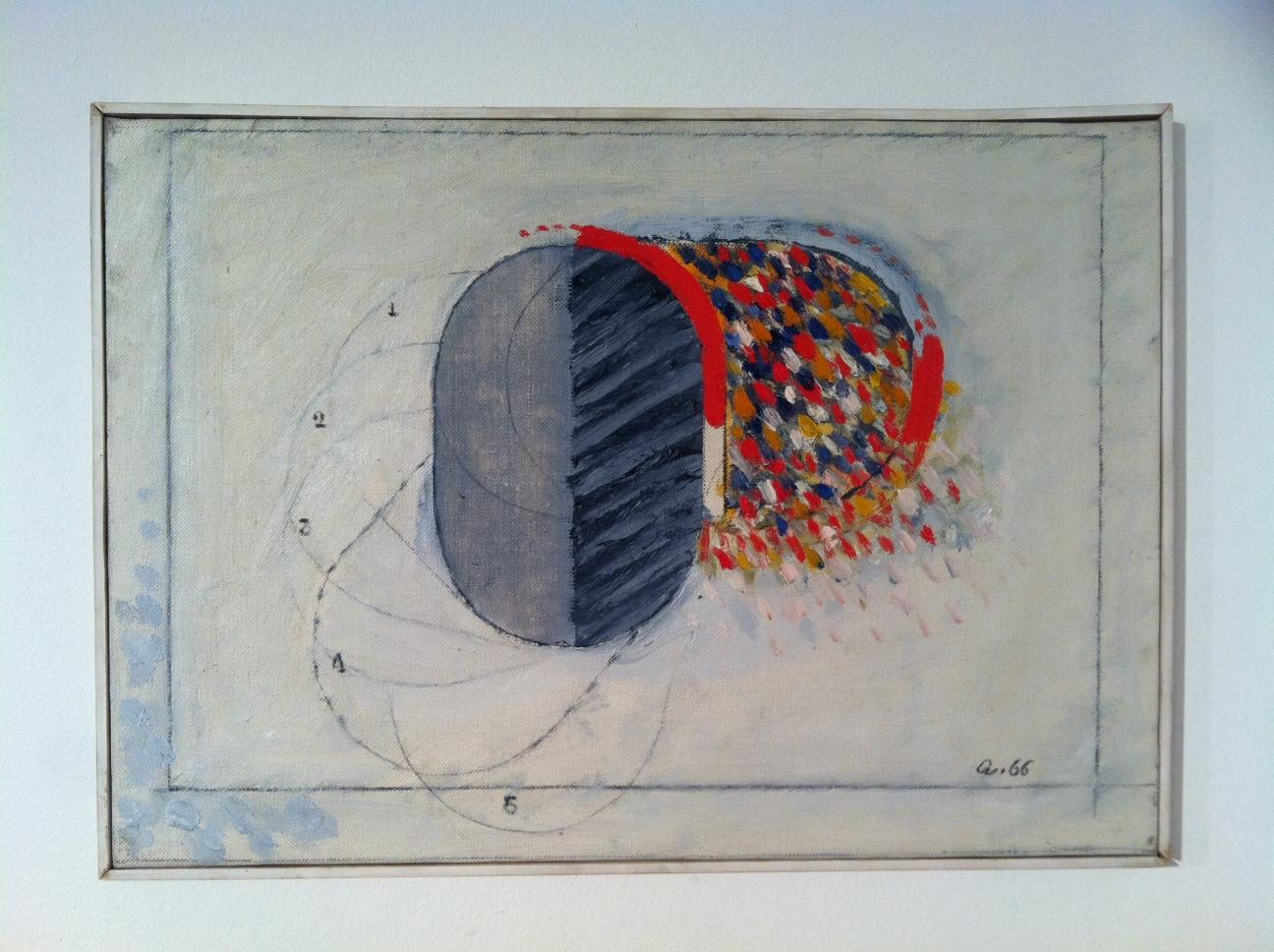 Origine della pittura, 1966