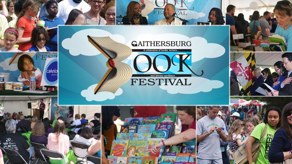 Gaithersburg Book Festival, May 18 - Gaithersburg Book FestivalGaithersburg City Hall, Gaithersburg, MarylandSaturday May 18, 10AM-6PM