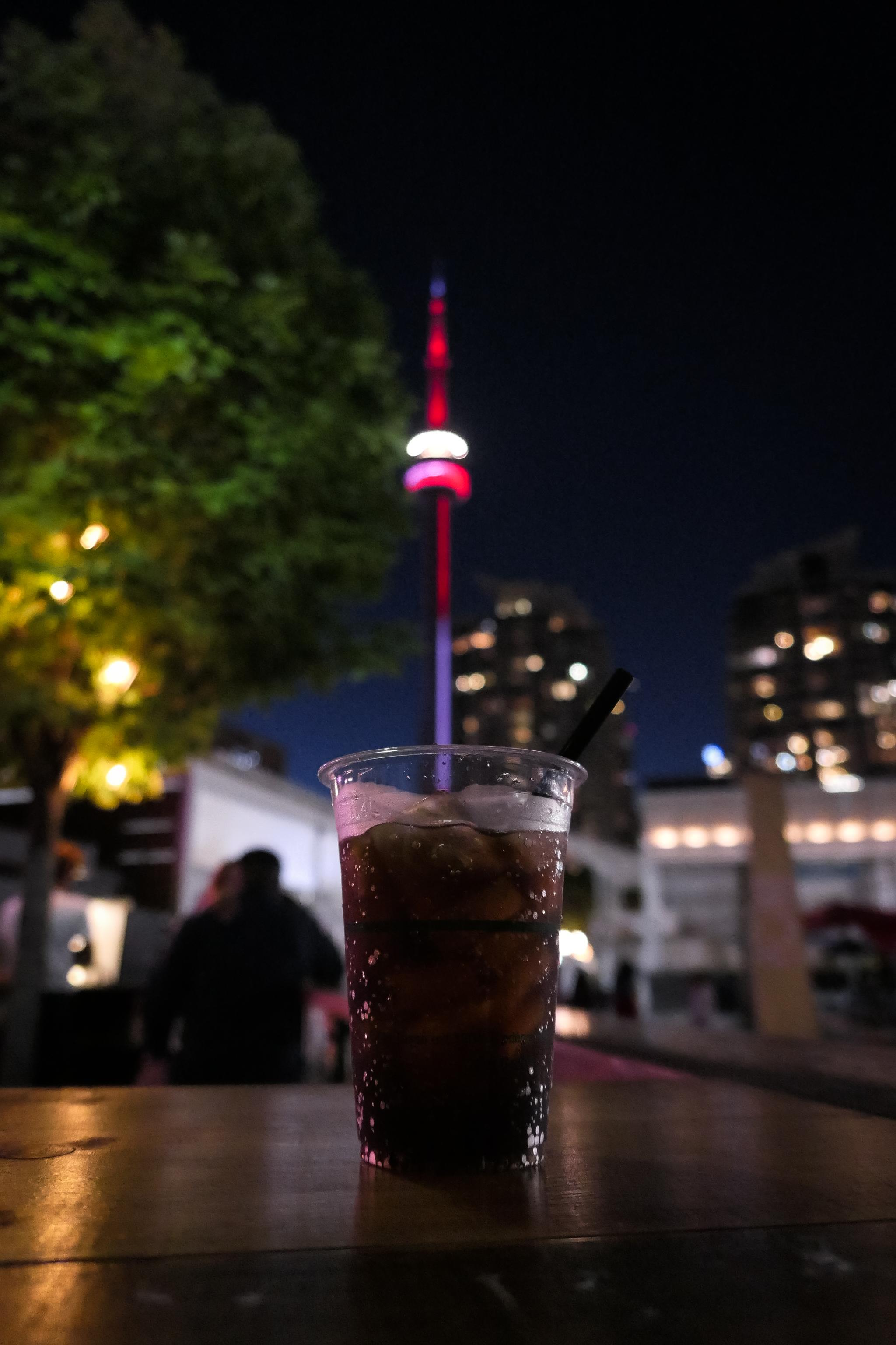 Arrivo a Toronto