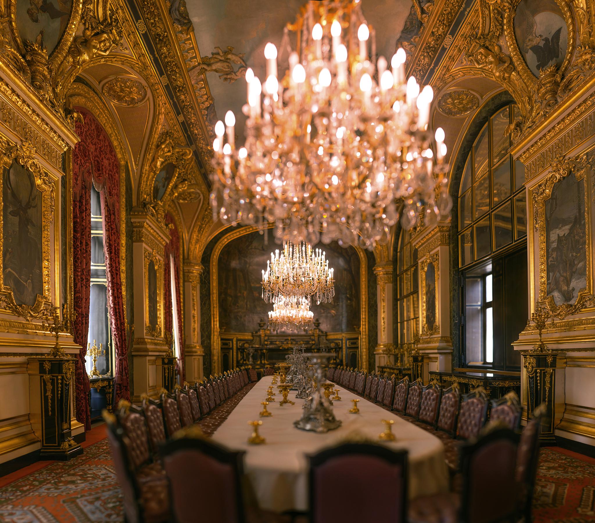 フランス:「ルーブル美術館、ナポレオン3世の部屋/Louvre Museum ,Napoleon III Apartments」