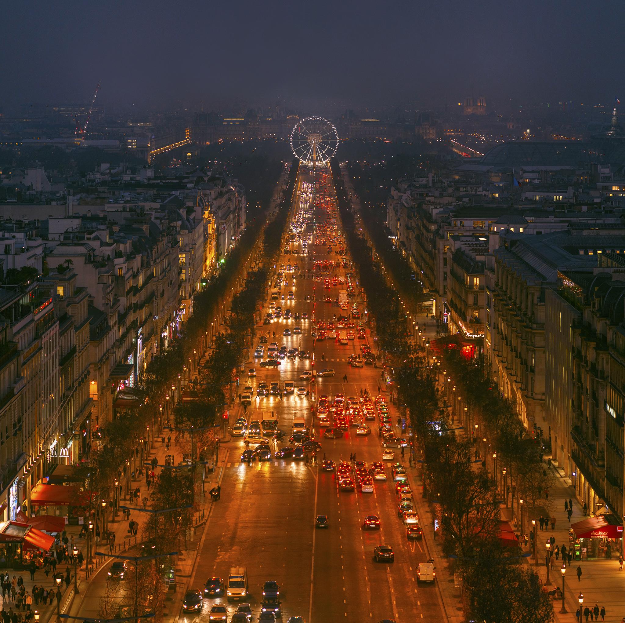 フランス:「シャンゼリゼ通り/Avenue des Champs-Élysées」