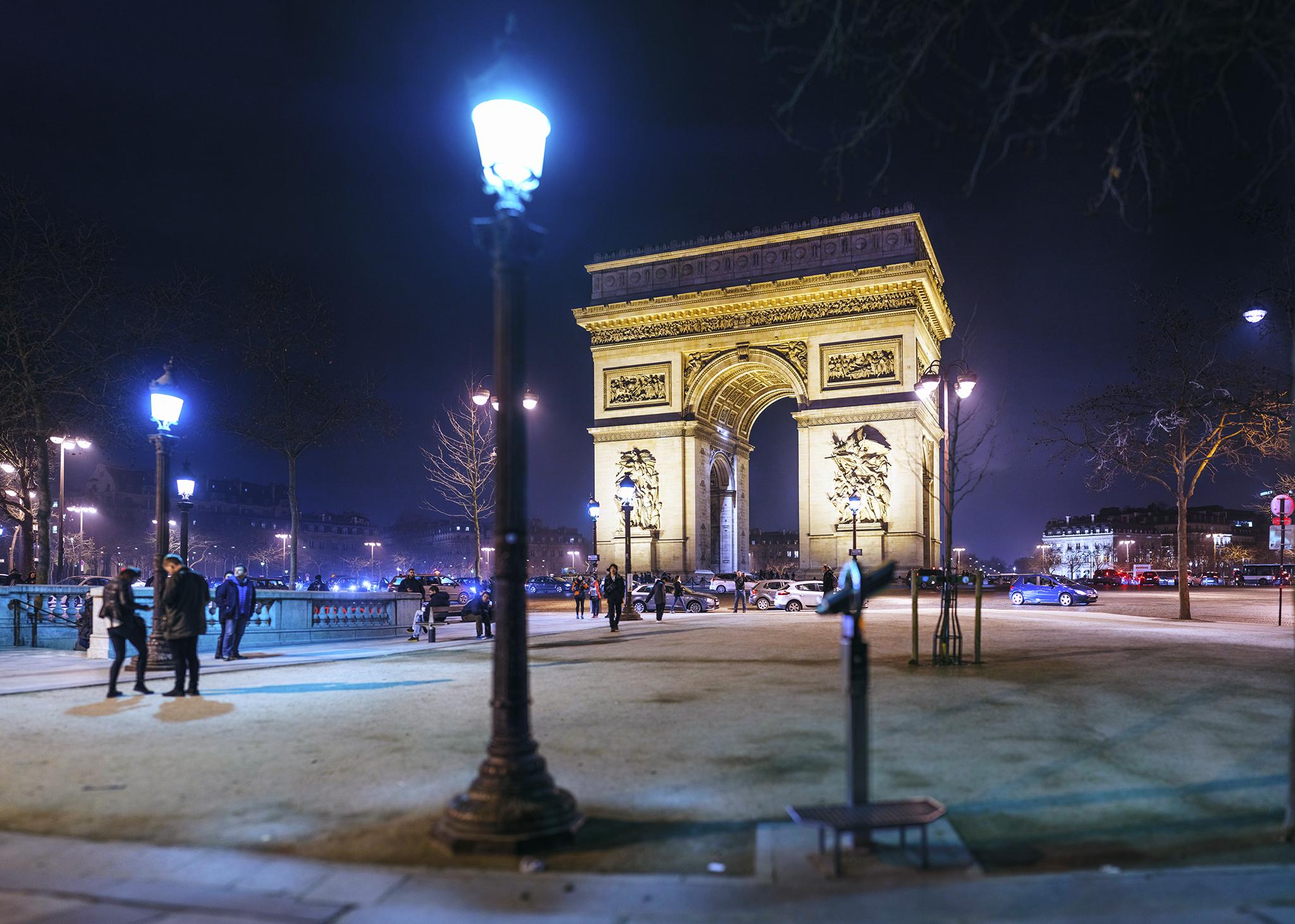 フランス:「エトワール凱旋門/Arc de triomphe」