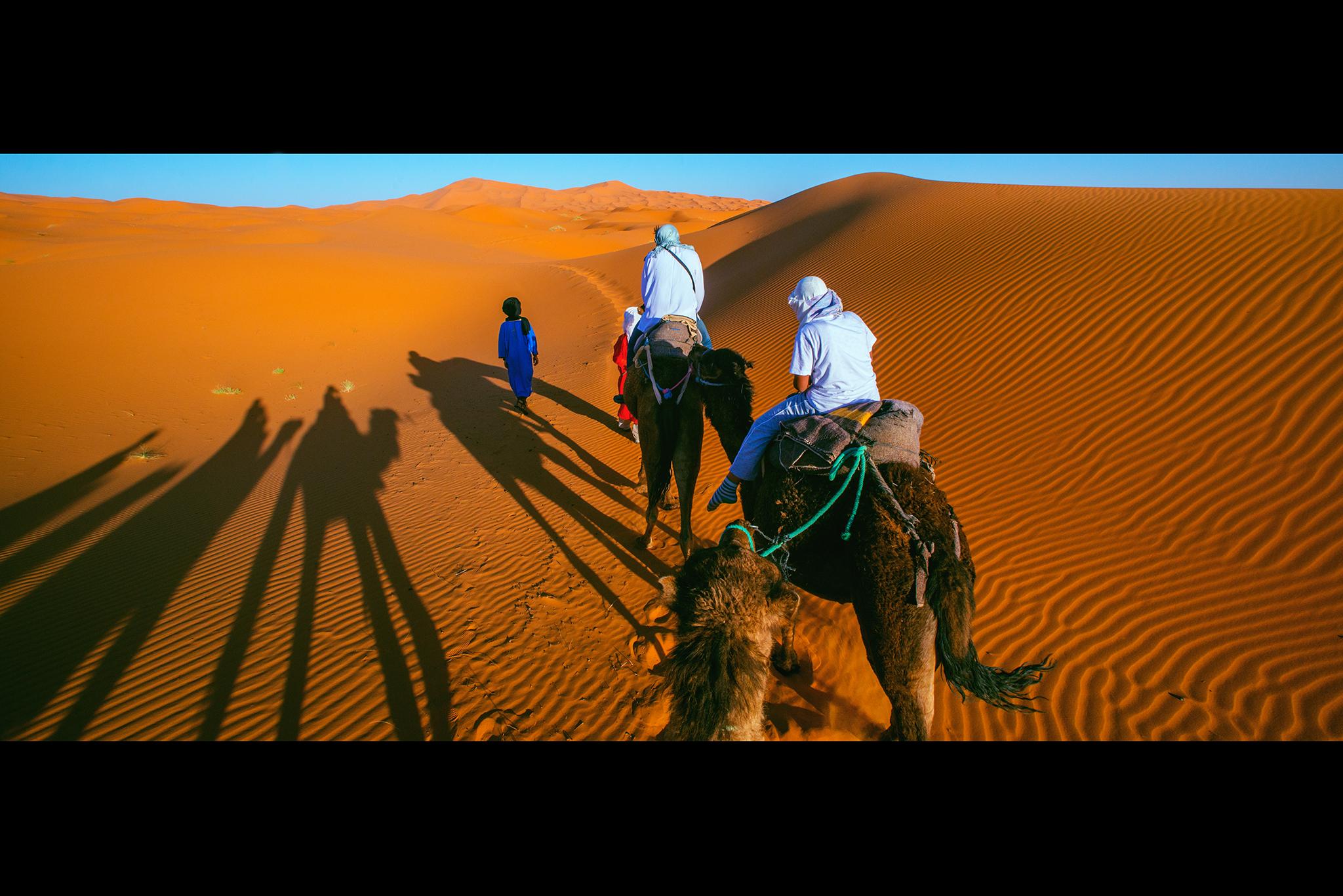 モロッコ:「サハラ砂漠/the Sahara」