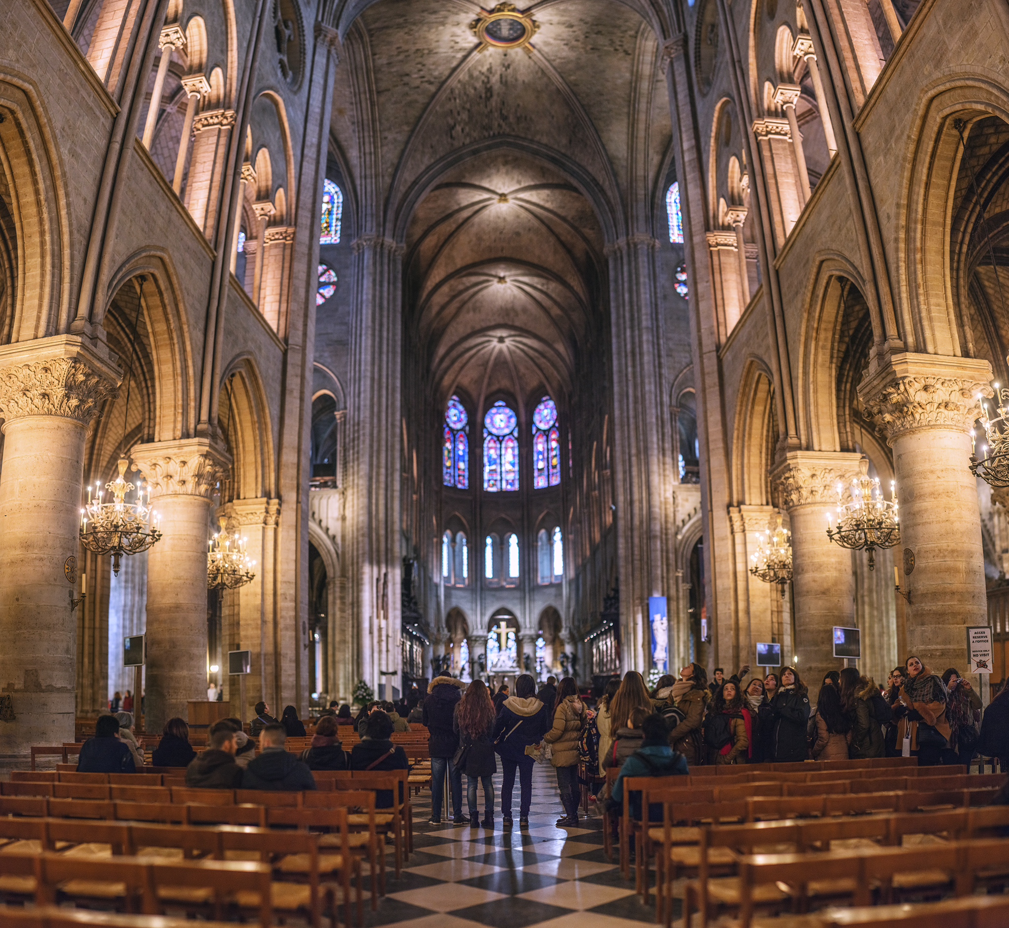 フランス:「ノートルダム大聖堂/Notre Dame Cathedral」