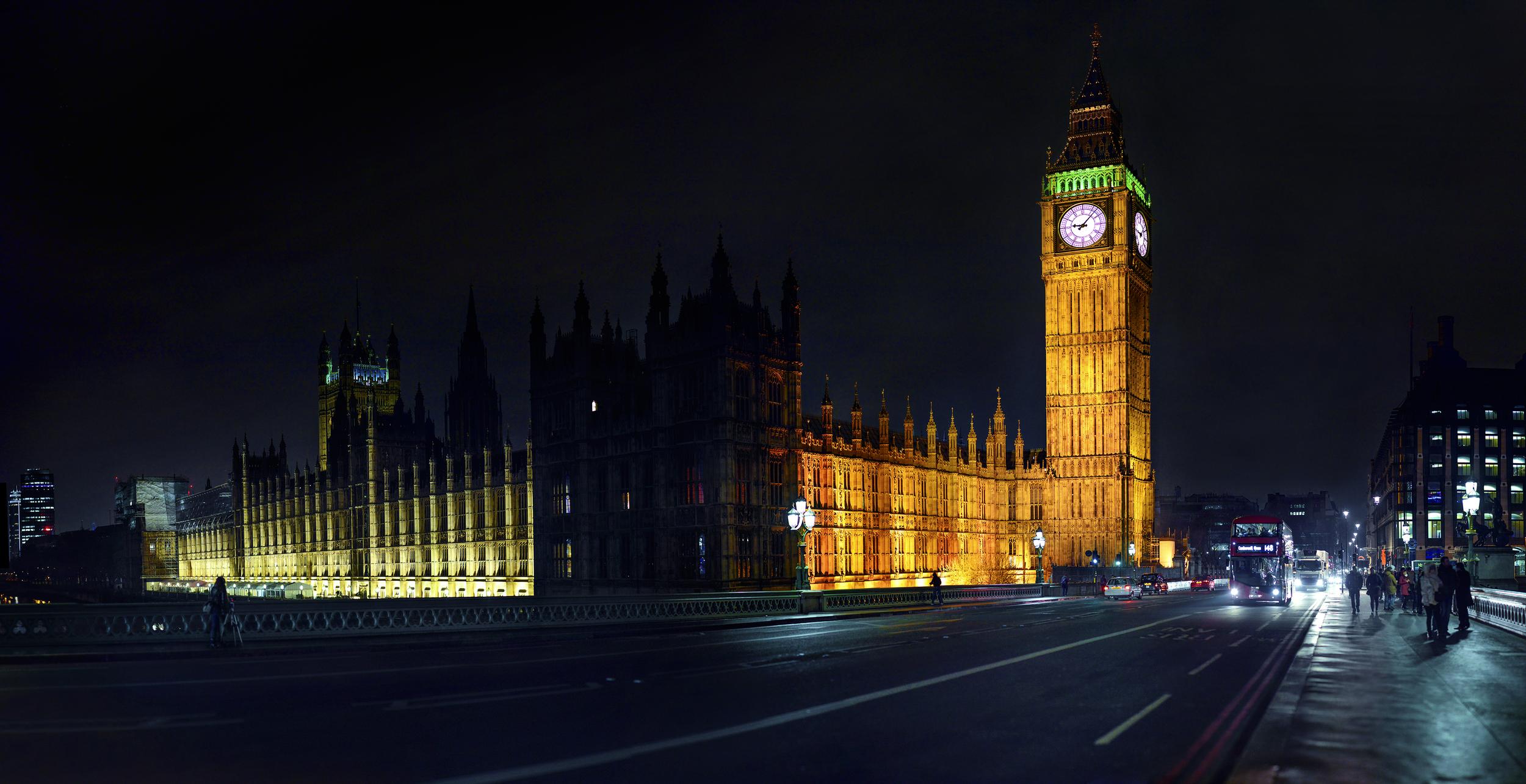 イギリス:「ビッグベン (エリザベスタワー)/Big Ben (Elizabeth Tower)」