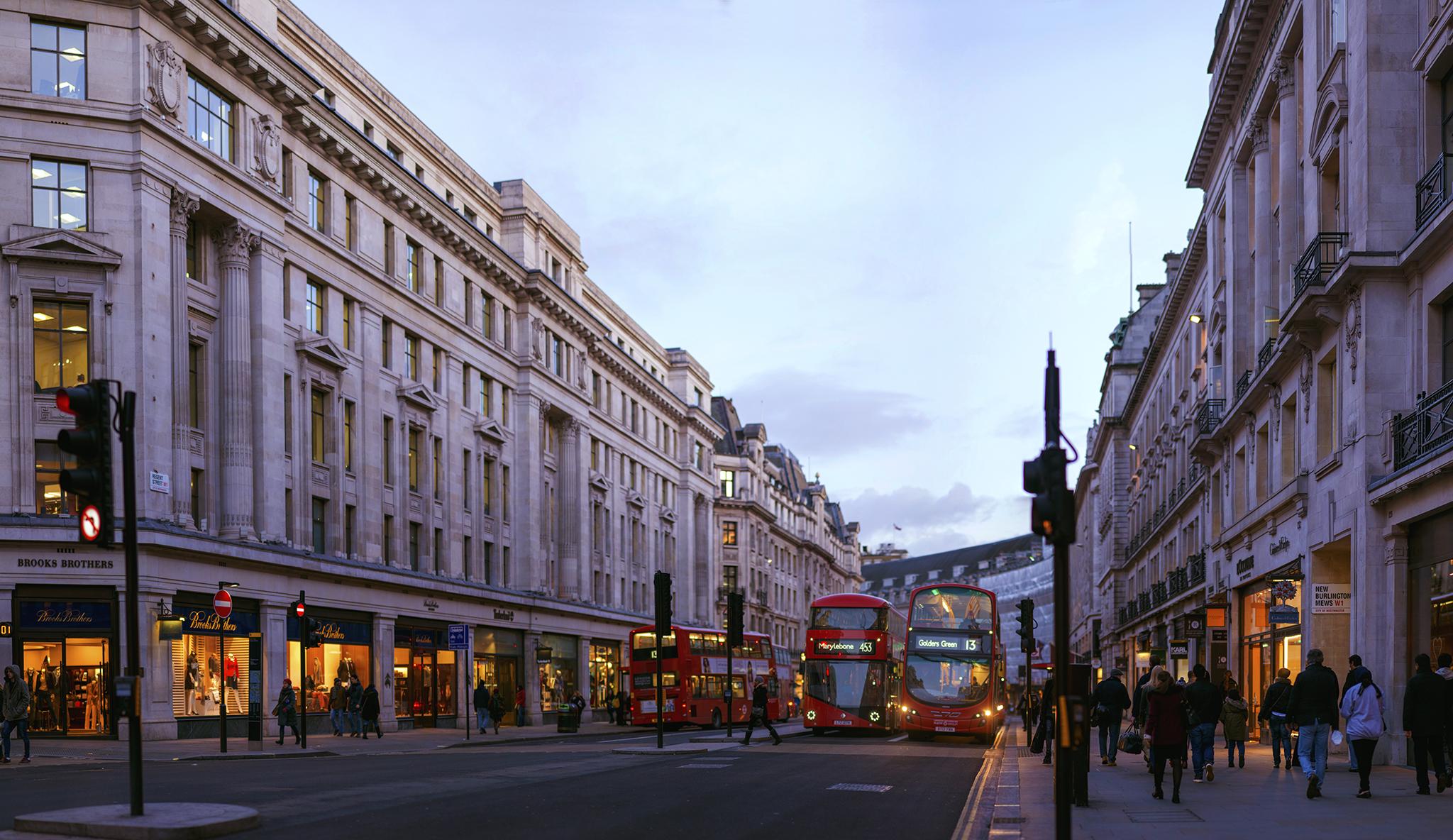 イギリス:「リージェント・ストリート/Regent Street」