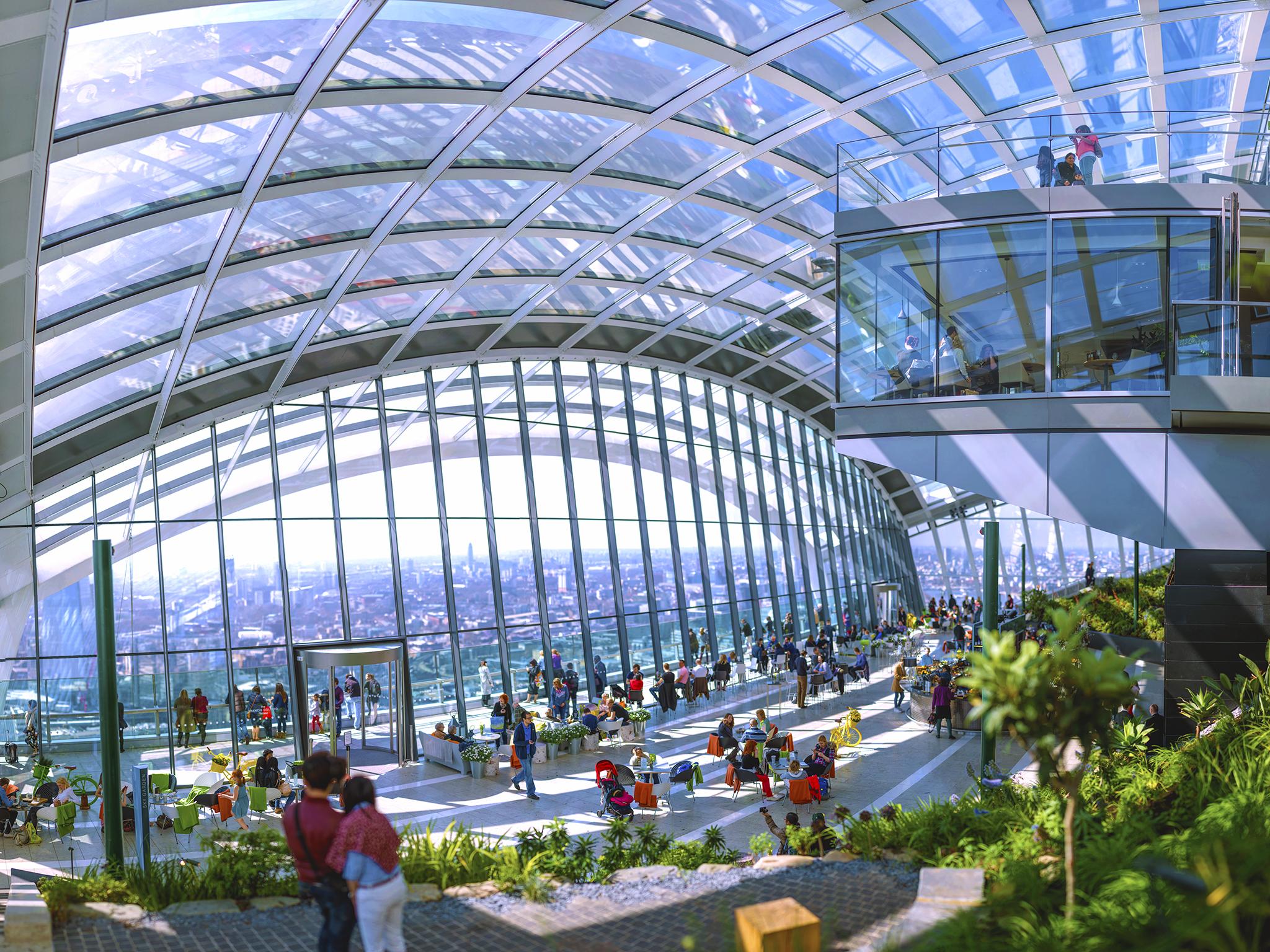 イギリス:「スカイガーデン/Sky Garden」