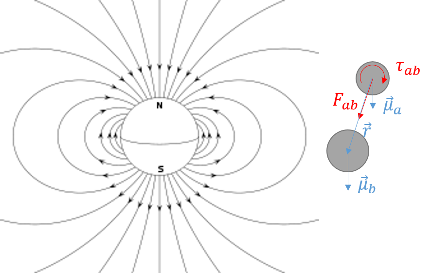 Magnetic Moment Dipole Model