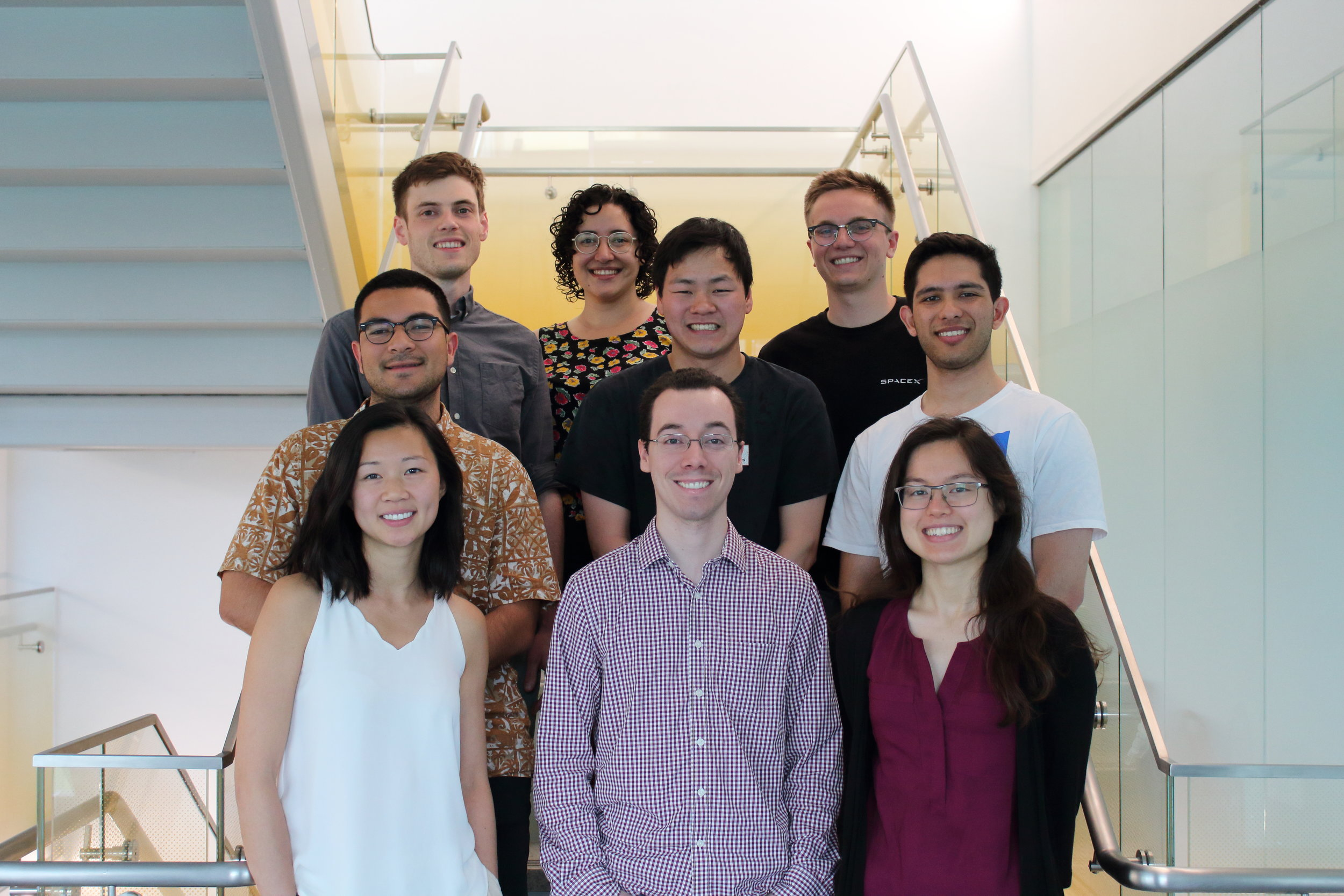 The SSDS graduate student group as of June 6th, 2019!