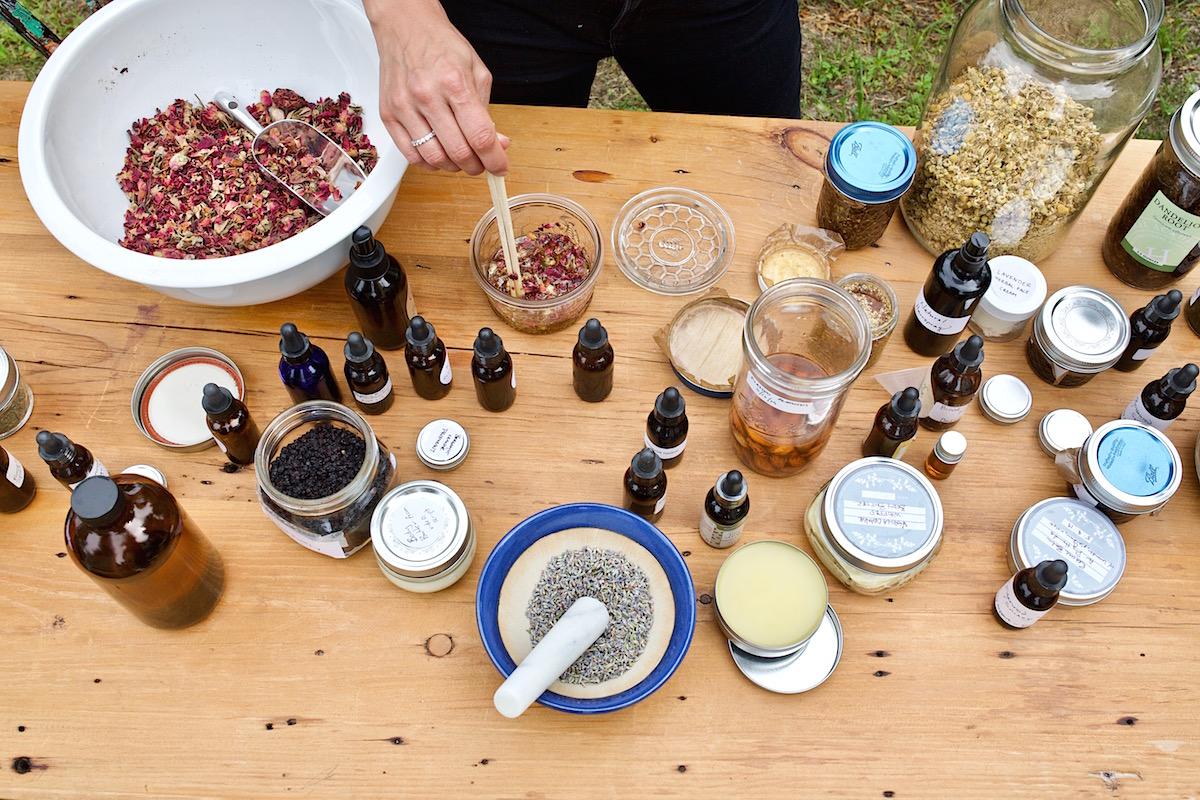 Making Herbal Preparations 101 Mini Course - Tabletop.jpg