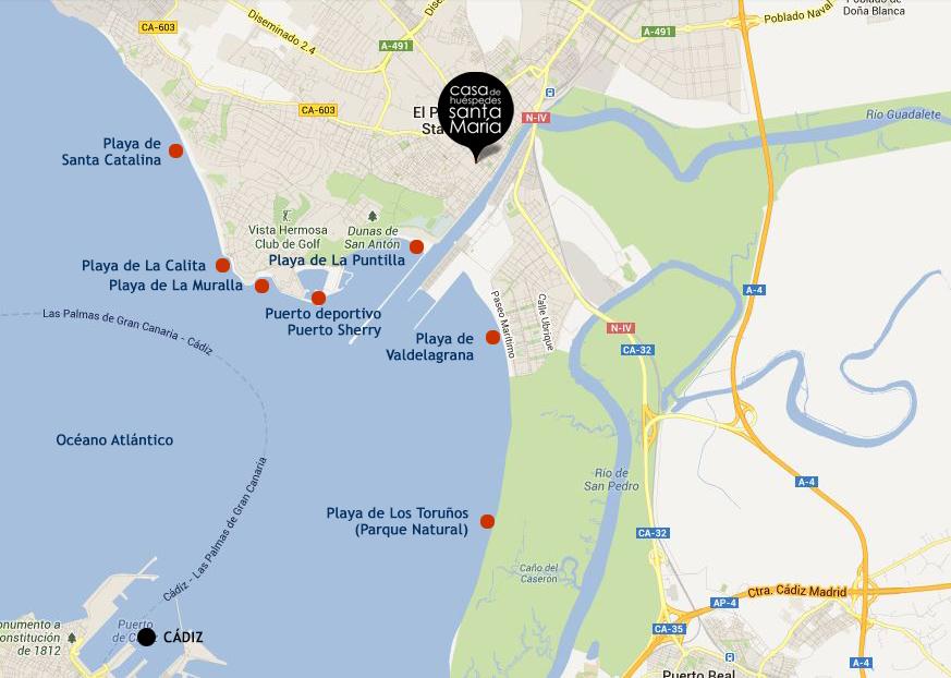 Mapa playas del Puerto.JPG