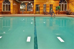The pool today, vastly upgraded from 1982