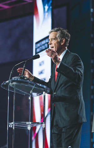 Former Sen. John Andrews launched the annual Western Conservative Summit for CCU in 2010 and chaired it for the next five years. Over 2,000 delegates from Colorado and across the country attended this year.