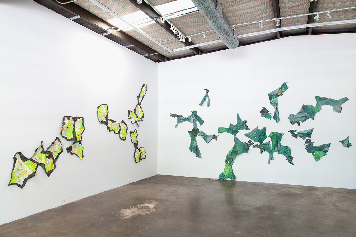 Install Shot for 'Material Intension' at ex ovo in Dallas, Texas