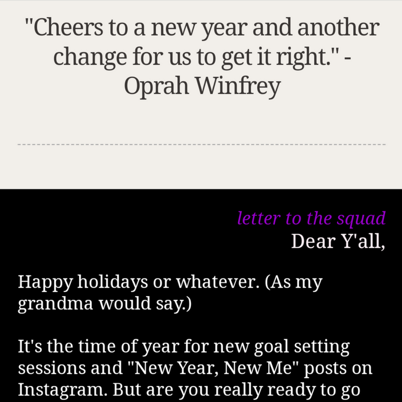 A snippet of my email newsletterTo see the full email, please go here. -