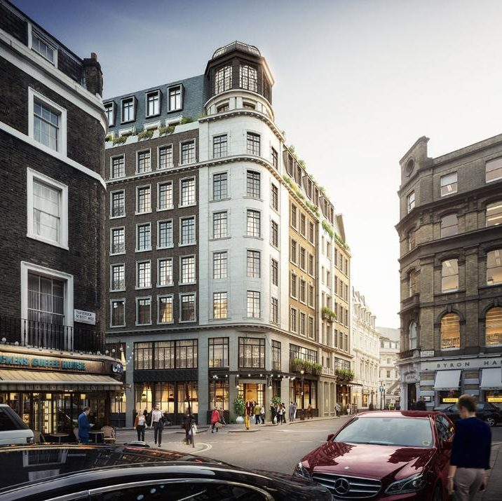 The Wellington Hotel (rendered image)