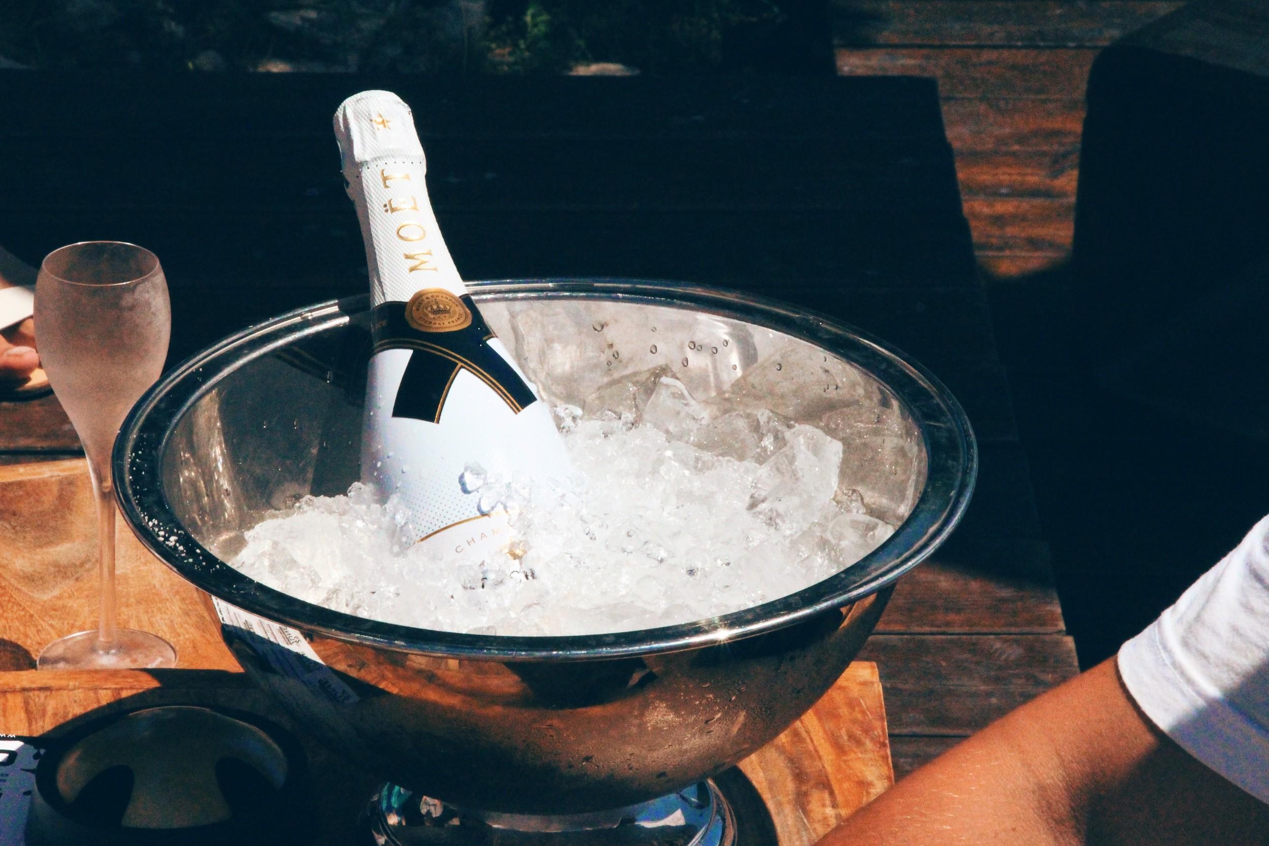Champagne anyone?