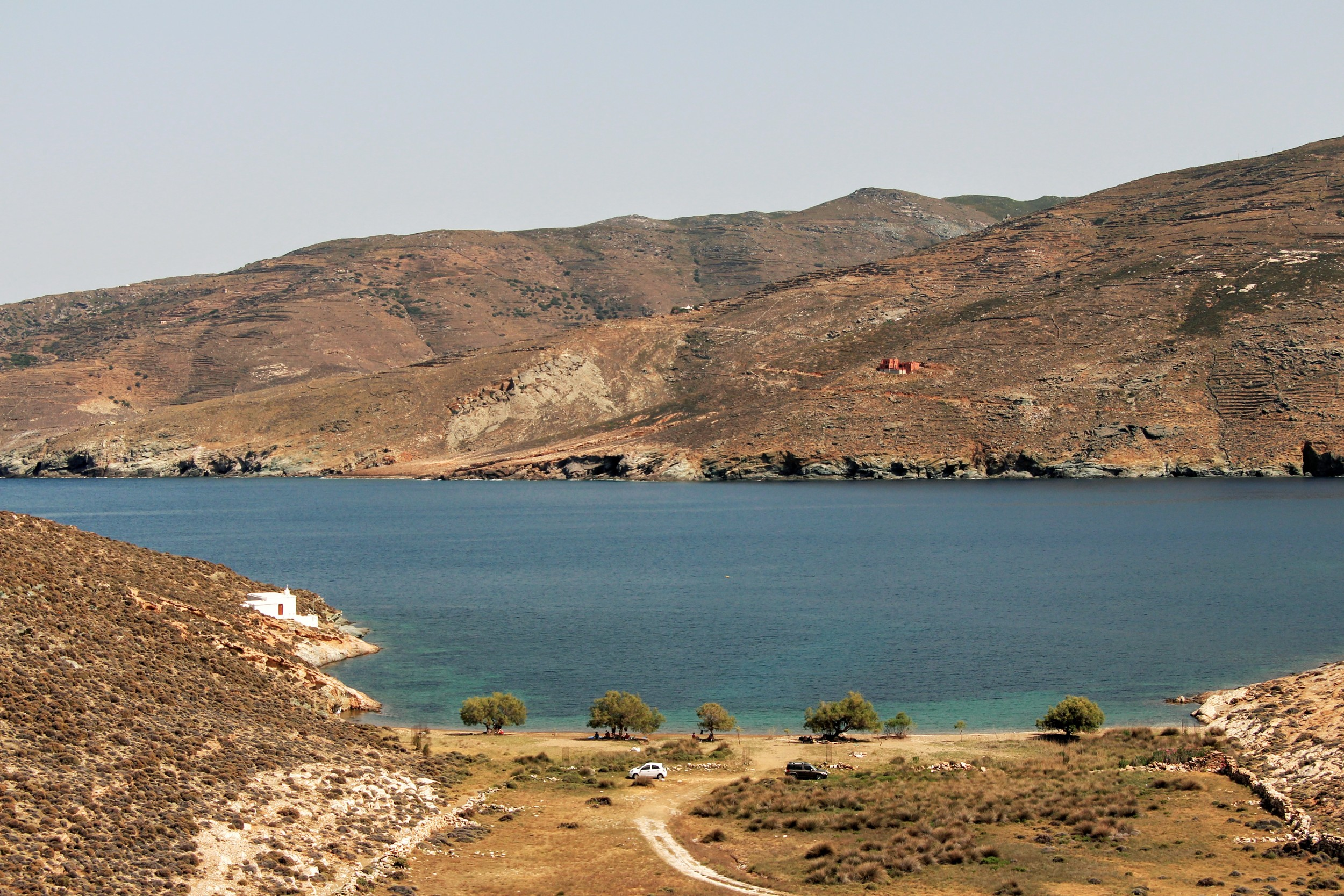 The bay of Agia Thalassa