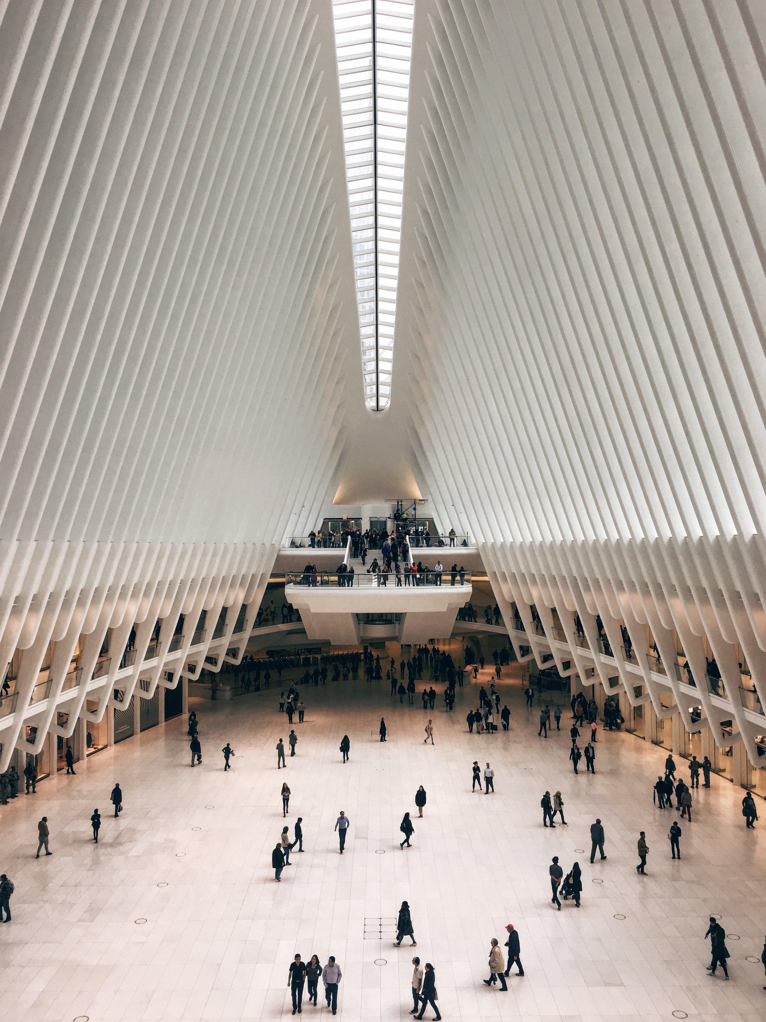 The Oculus at World Trade Center by Santiago Calatrava