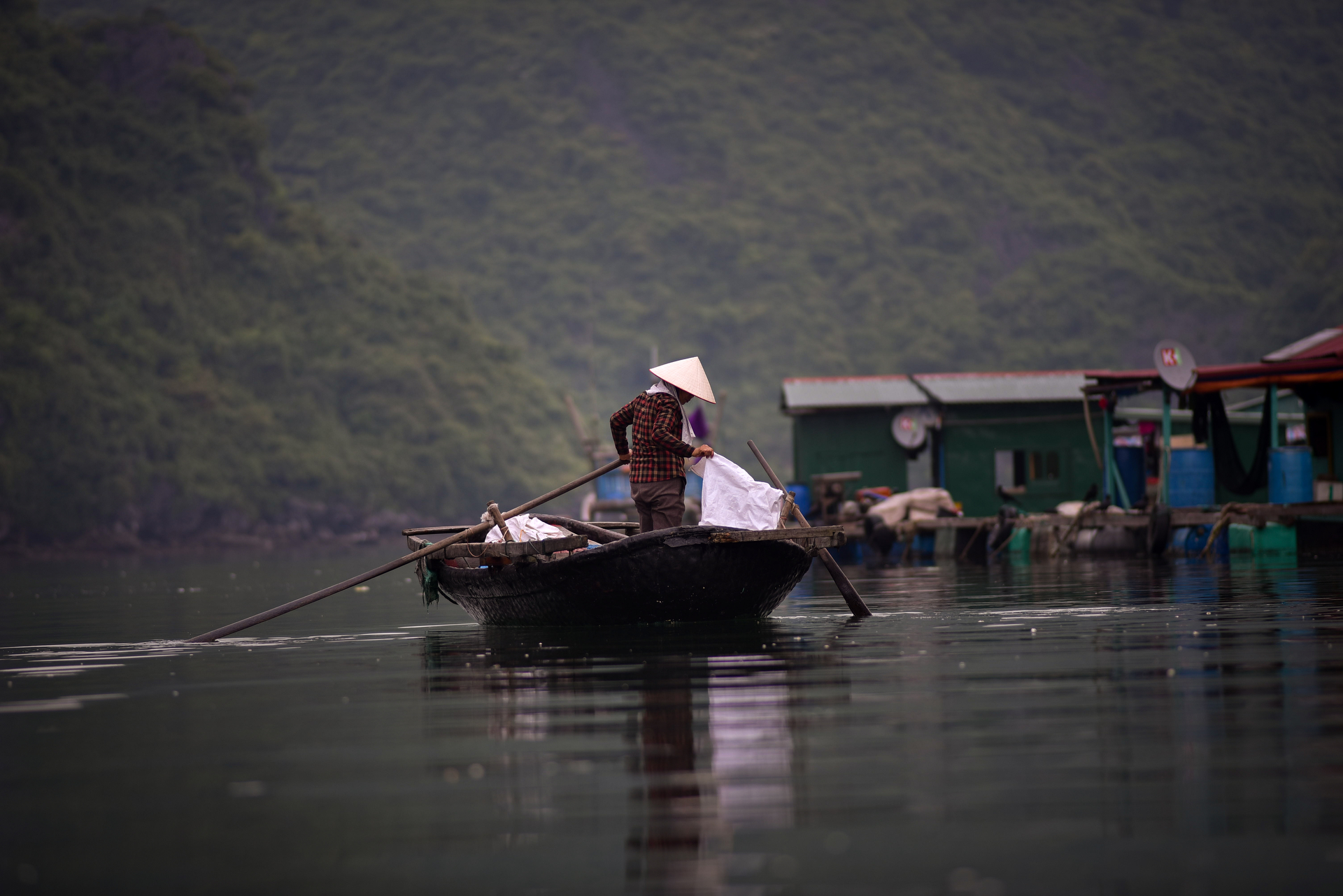 Life in Halong Bay brings everything down to a basic level
