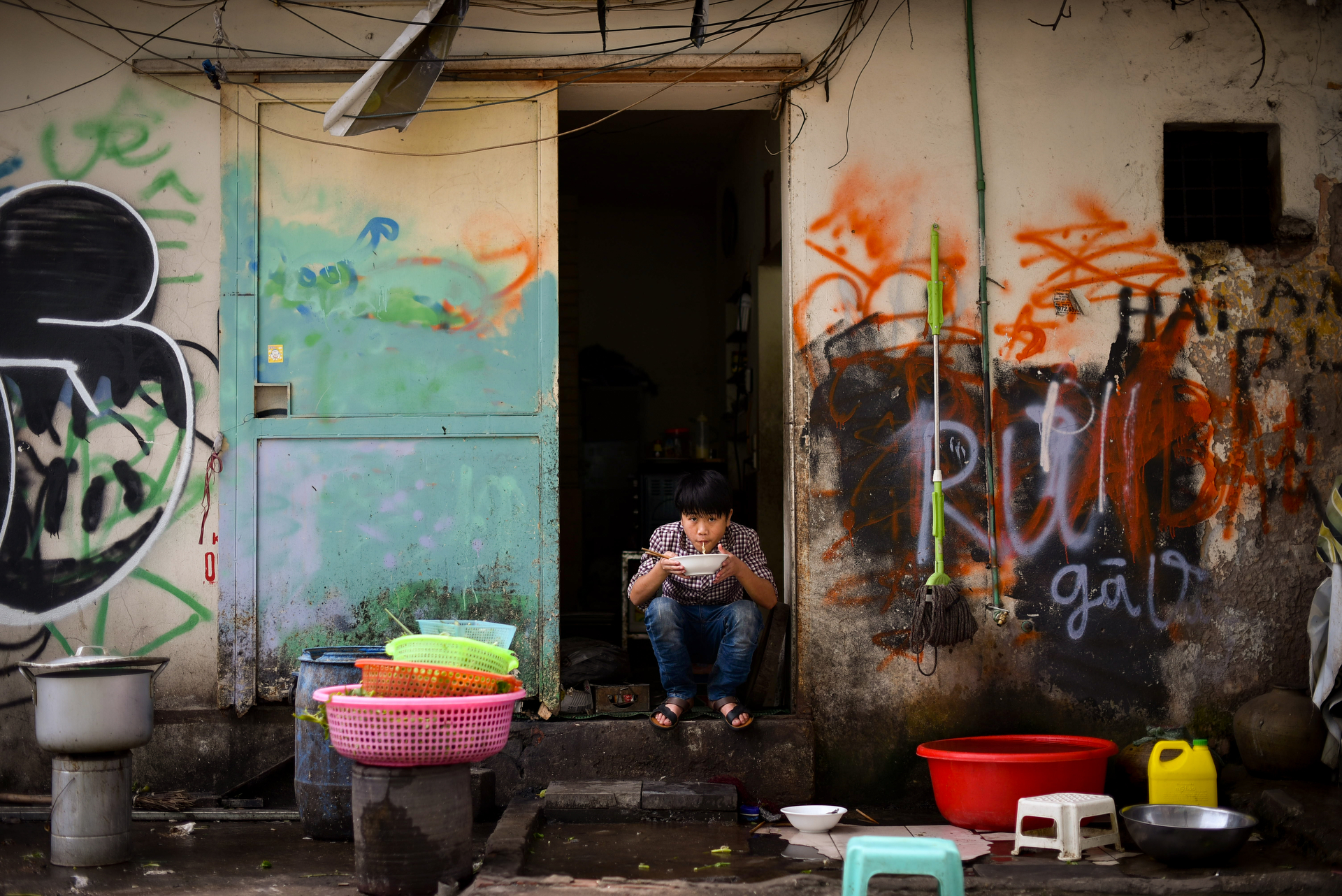 Poverty is apparent almost everywhere across Vietnam
