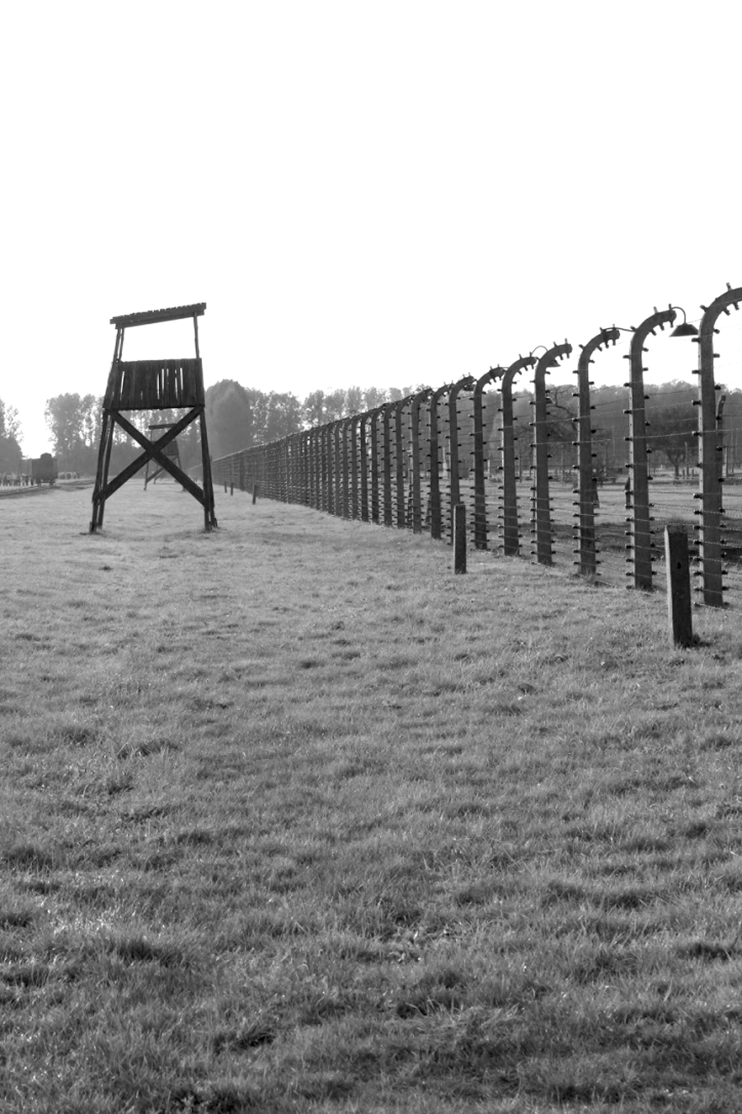 Auschwitz II. Part of the camp