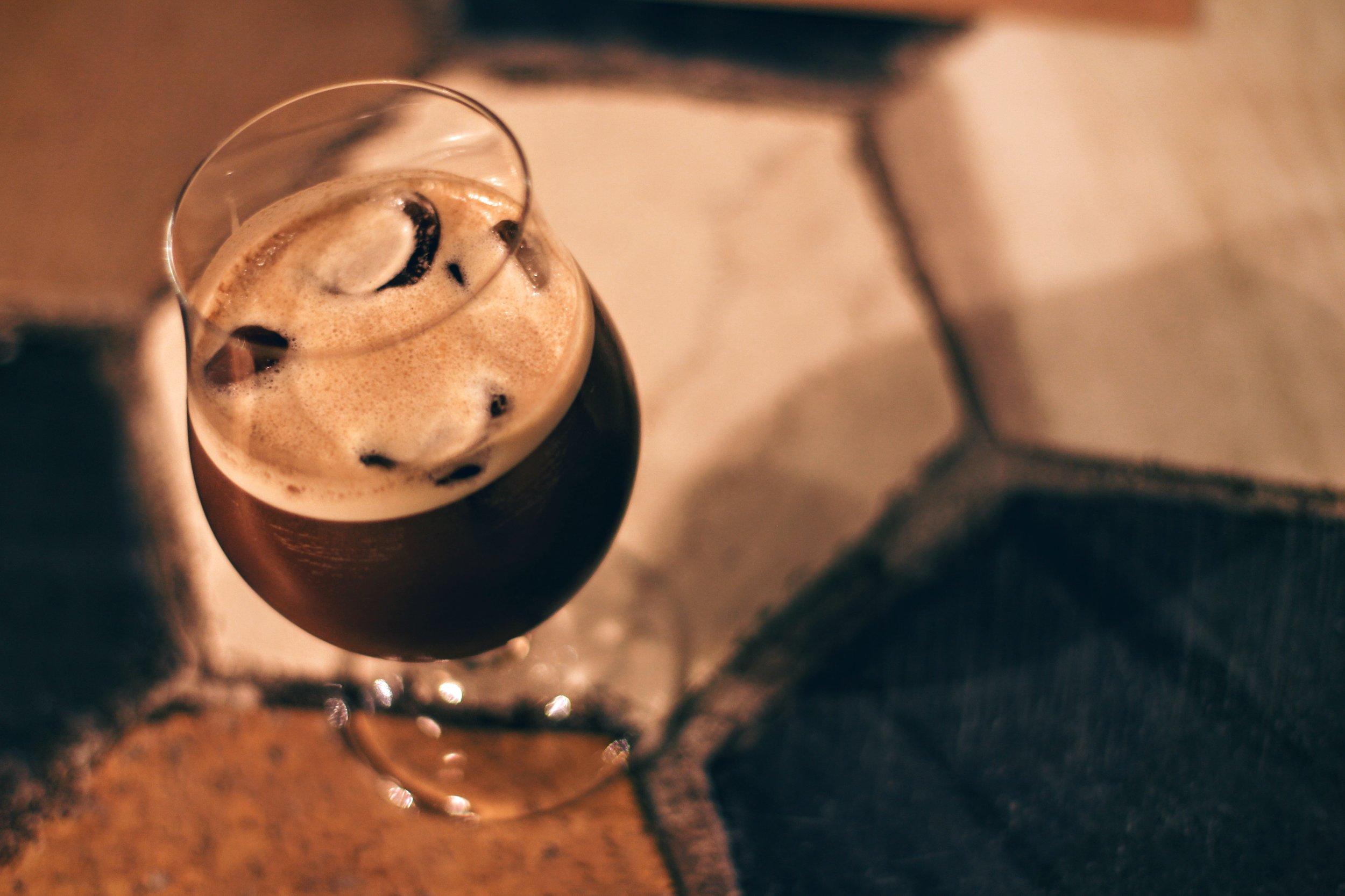 Greek coffee, freddo style