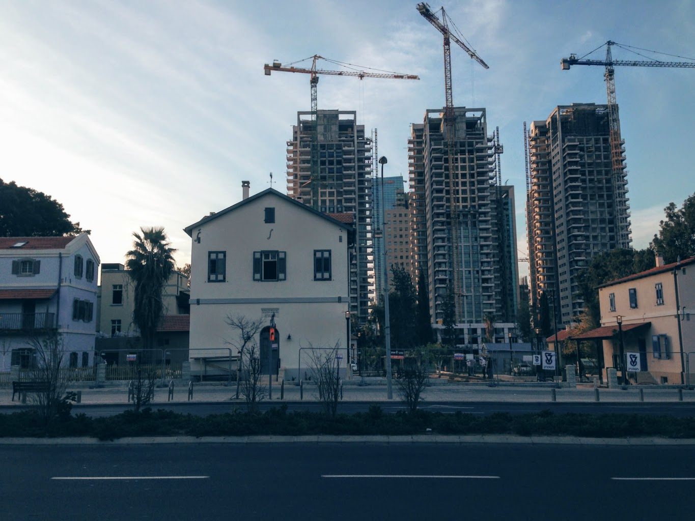 Constant redevelopment of real estate in the city centre