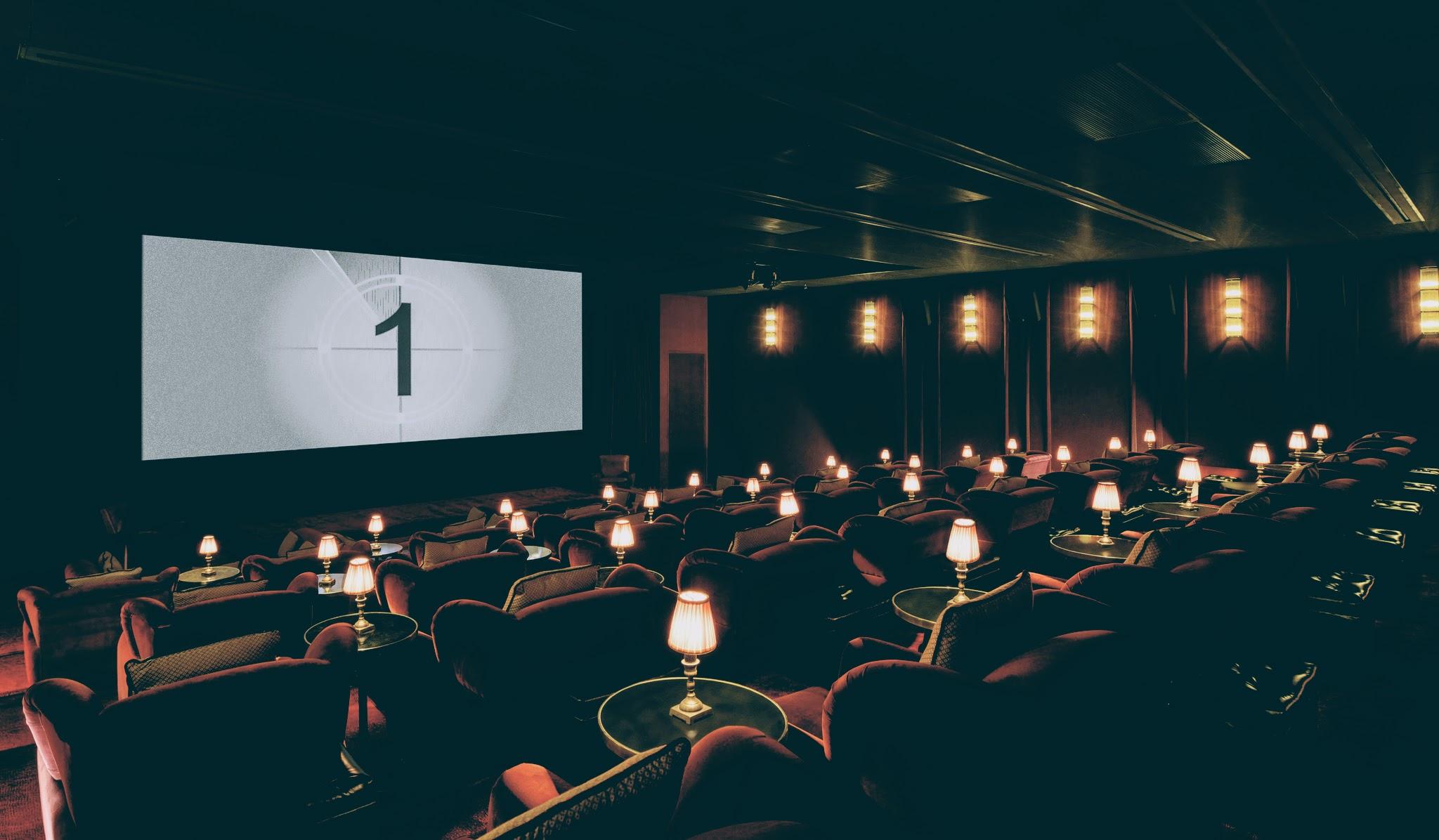 Screening room at Soho House Istanbul