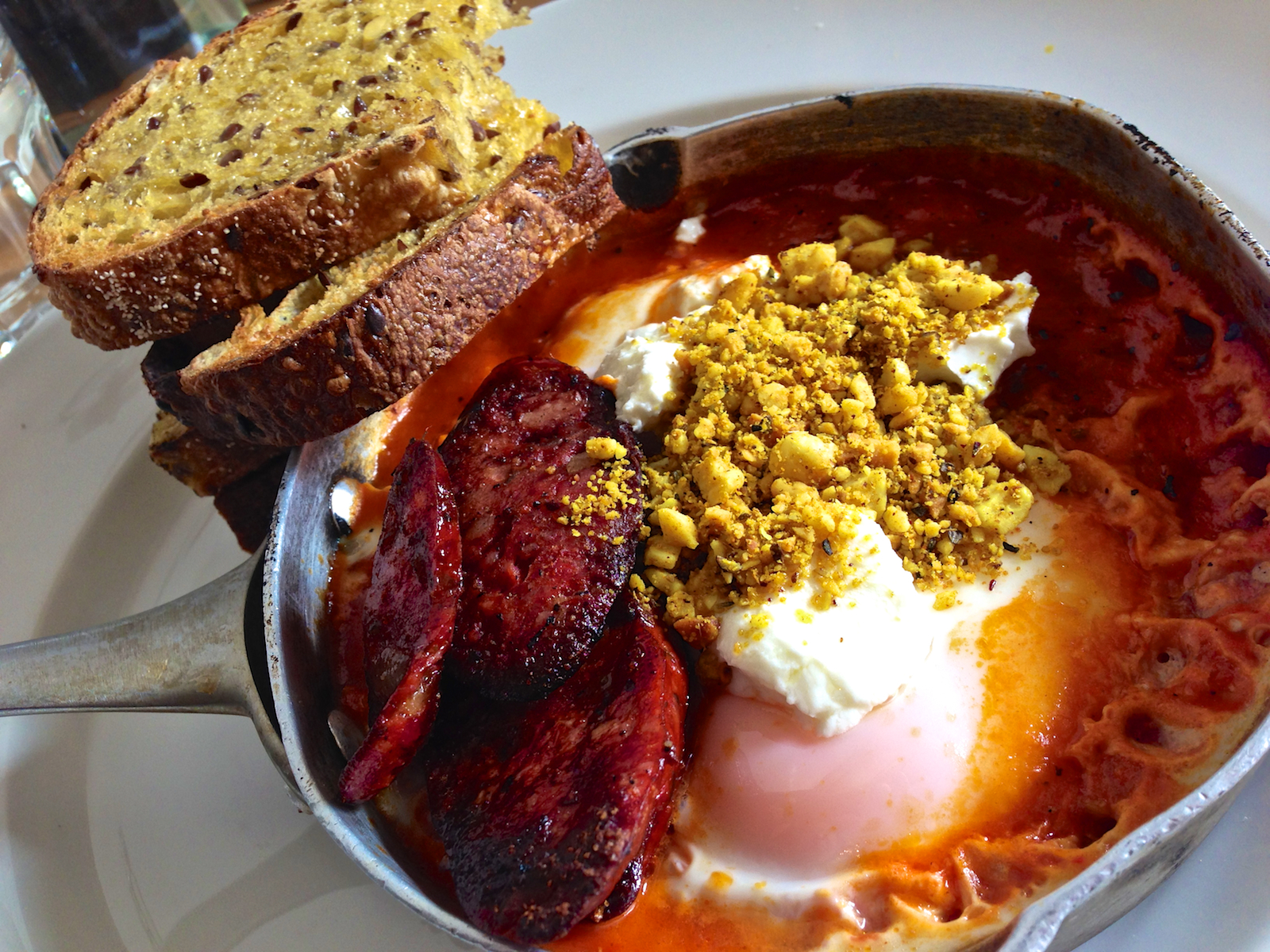 Spicy baked eggs at Axil Coffee Roasters - Image by Katherine Lim,  Source