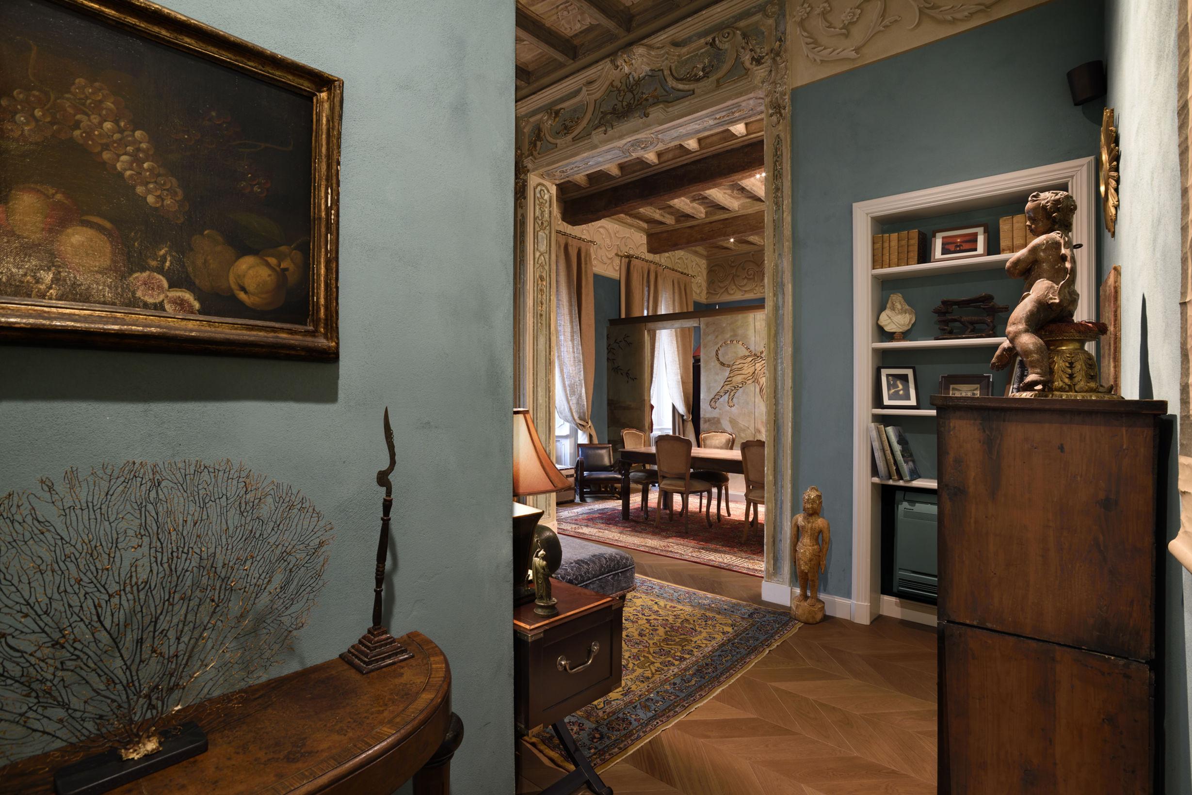 Beautiful decor at Casa Ranieri Tenti