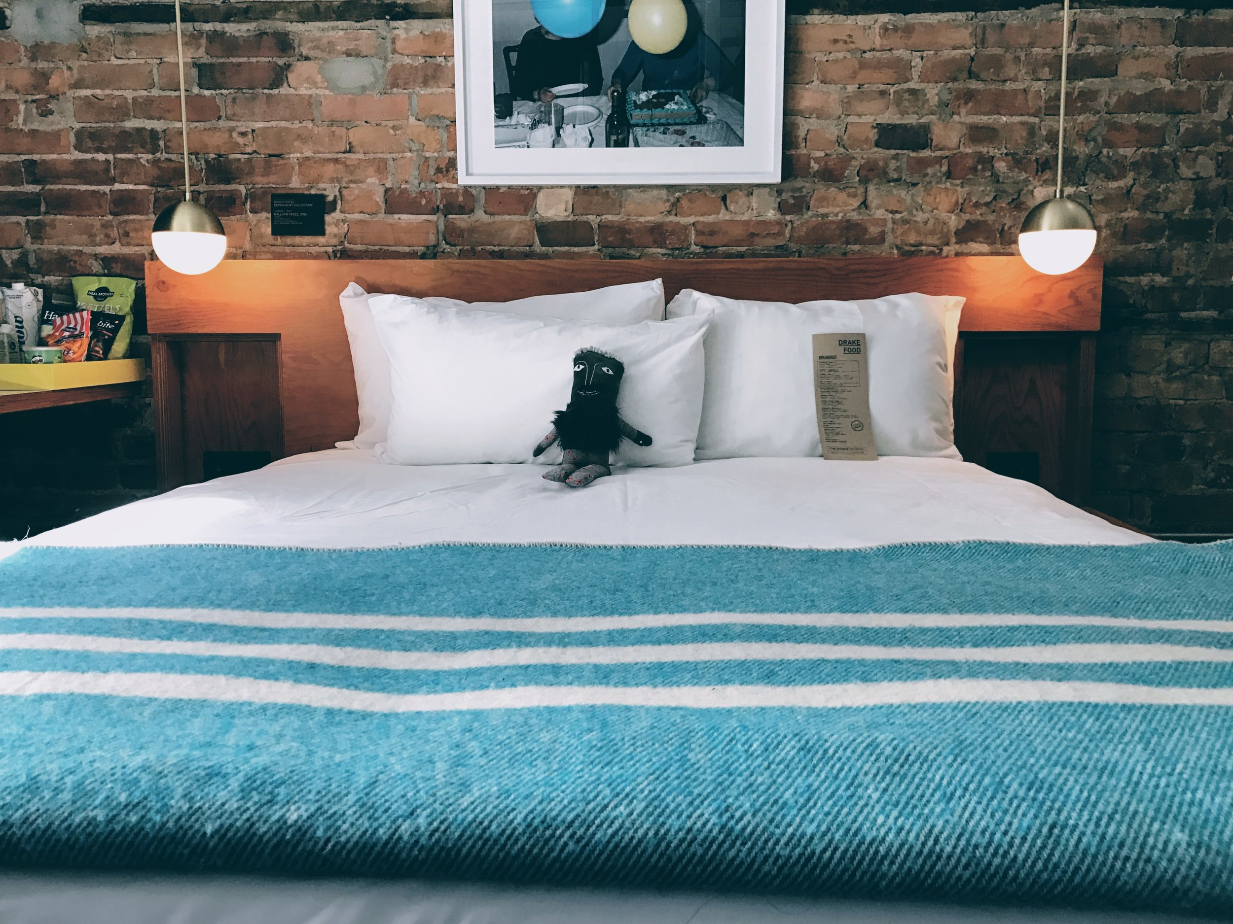 The Drake Hotel offering cozy rooms with a twist