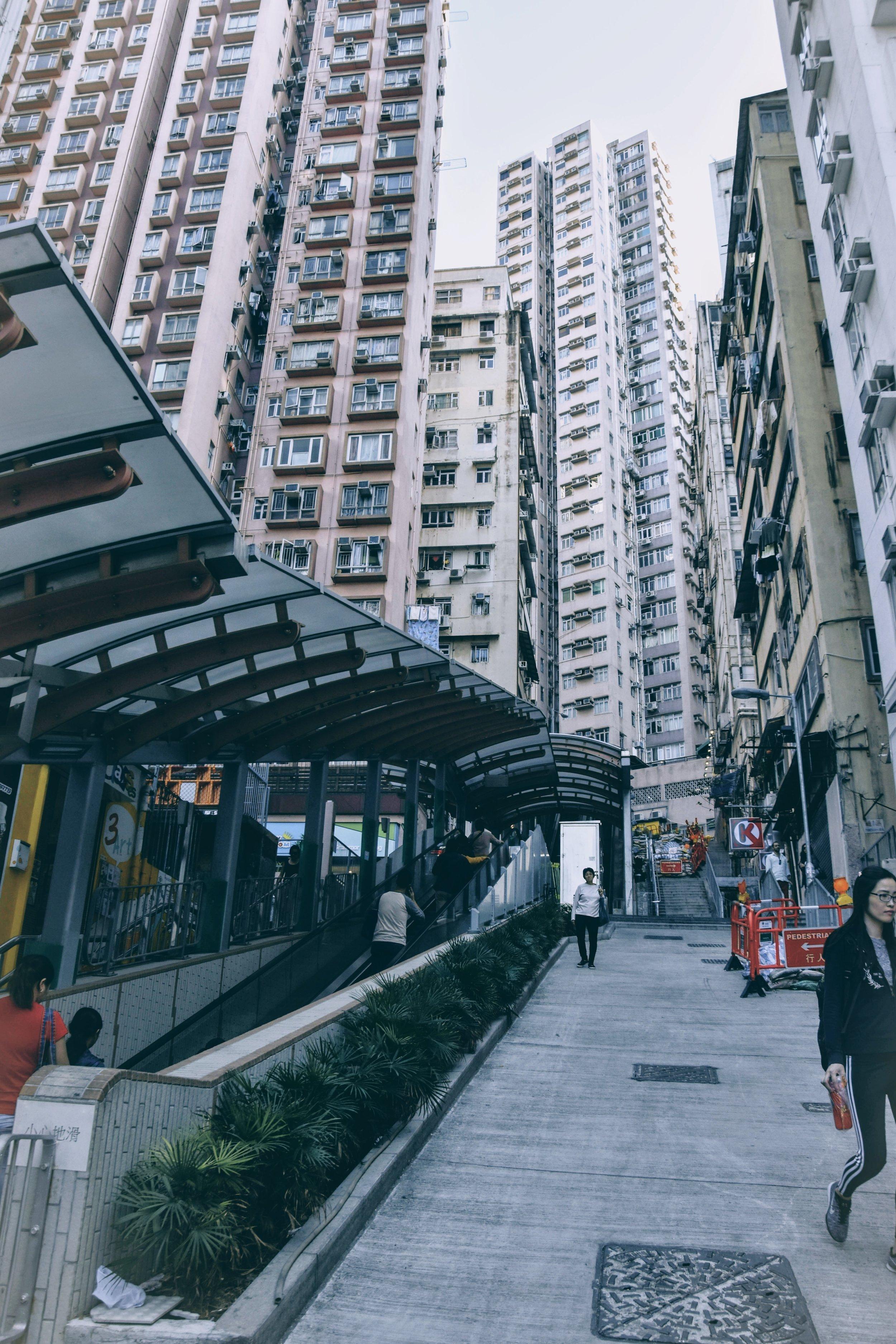 Centre Street Escalator, SYP