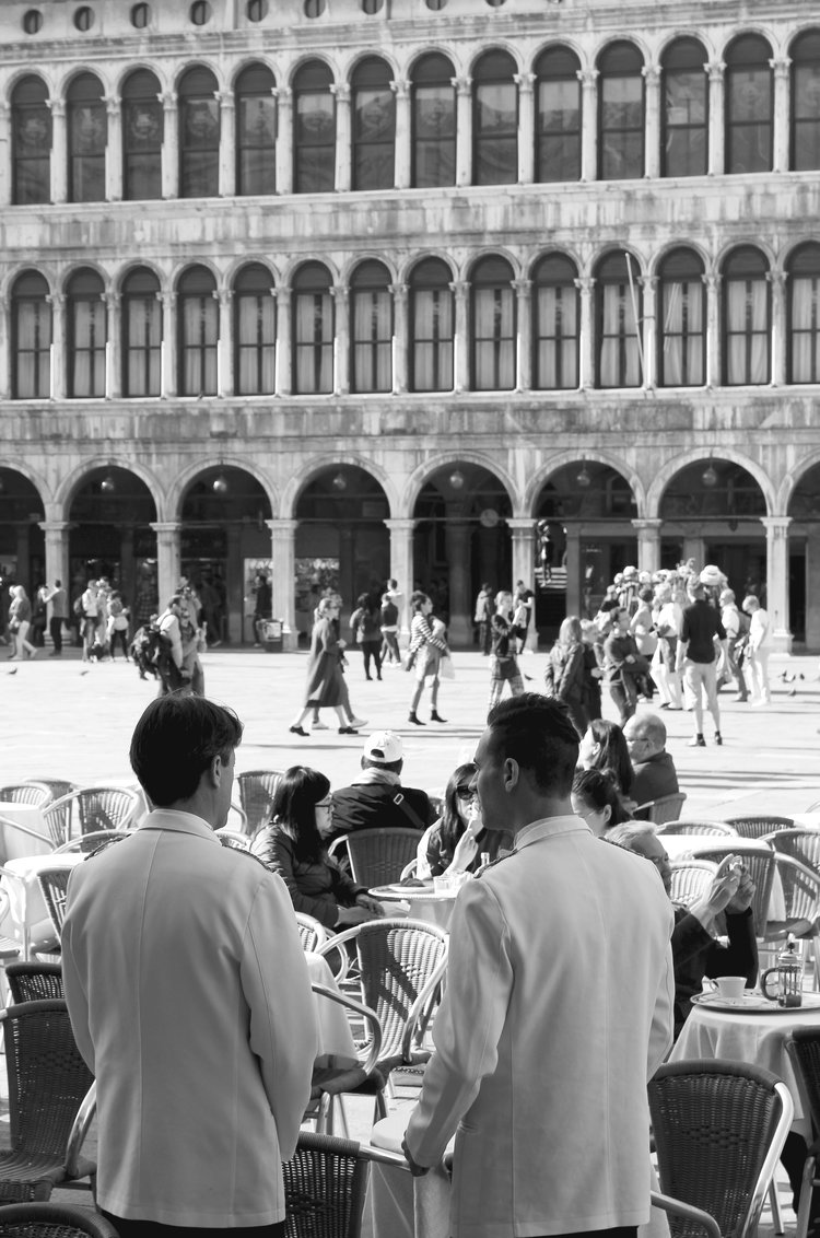 According to Jan Morris, mere decades ago you could find Venetians who'd lived in the same ward their whole life and never travelled to St Mark's square.