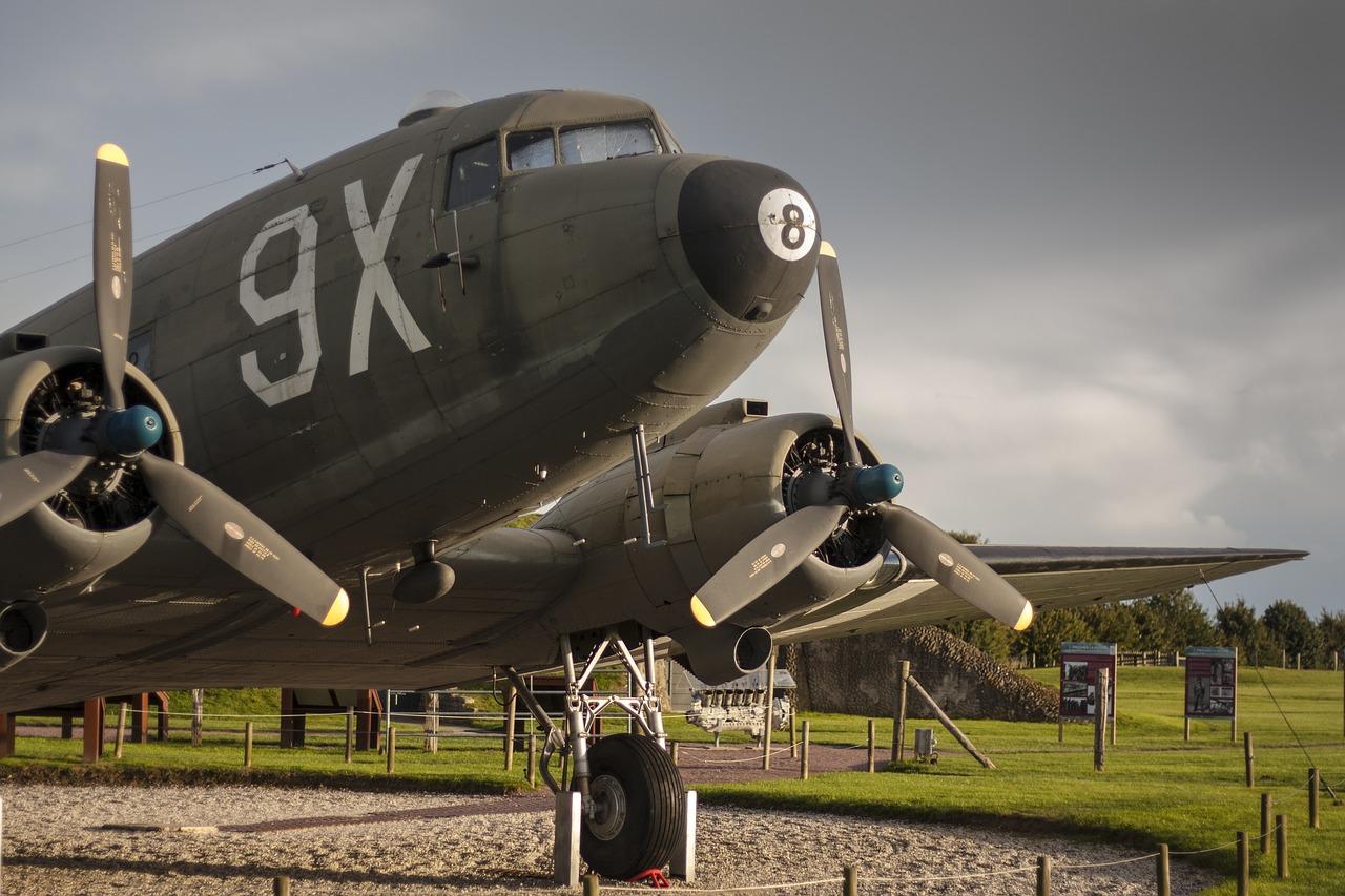 WW2 Plane - Normandy, by eriger / Source:  Pixabay