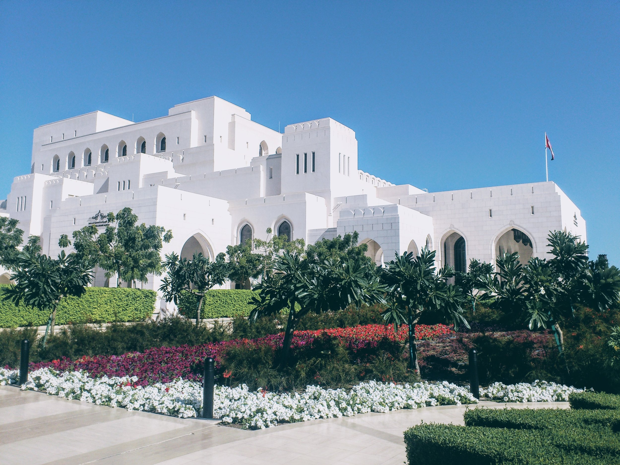 The Royal Opera House Muscat / Source: Wikimedia Commons