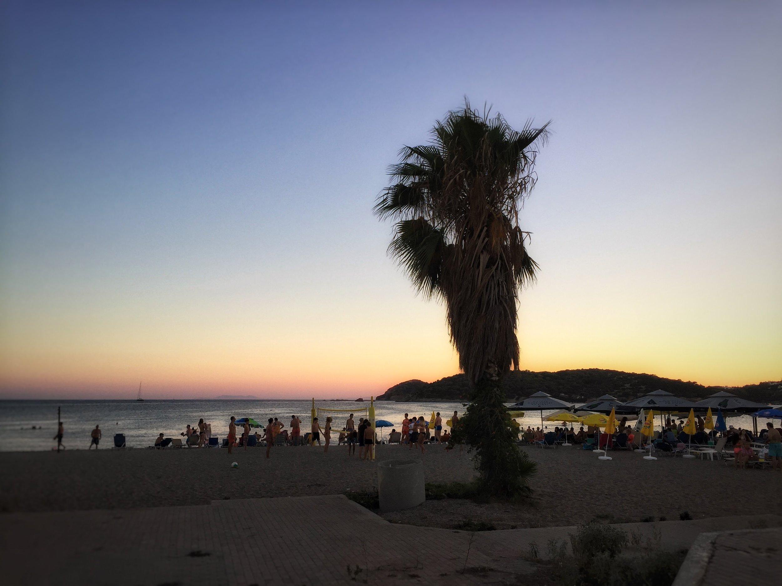 Beachfront at Varkiza