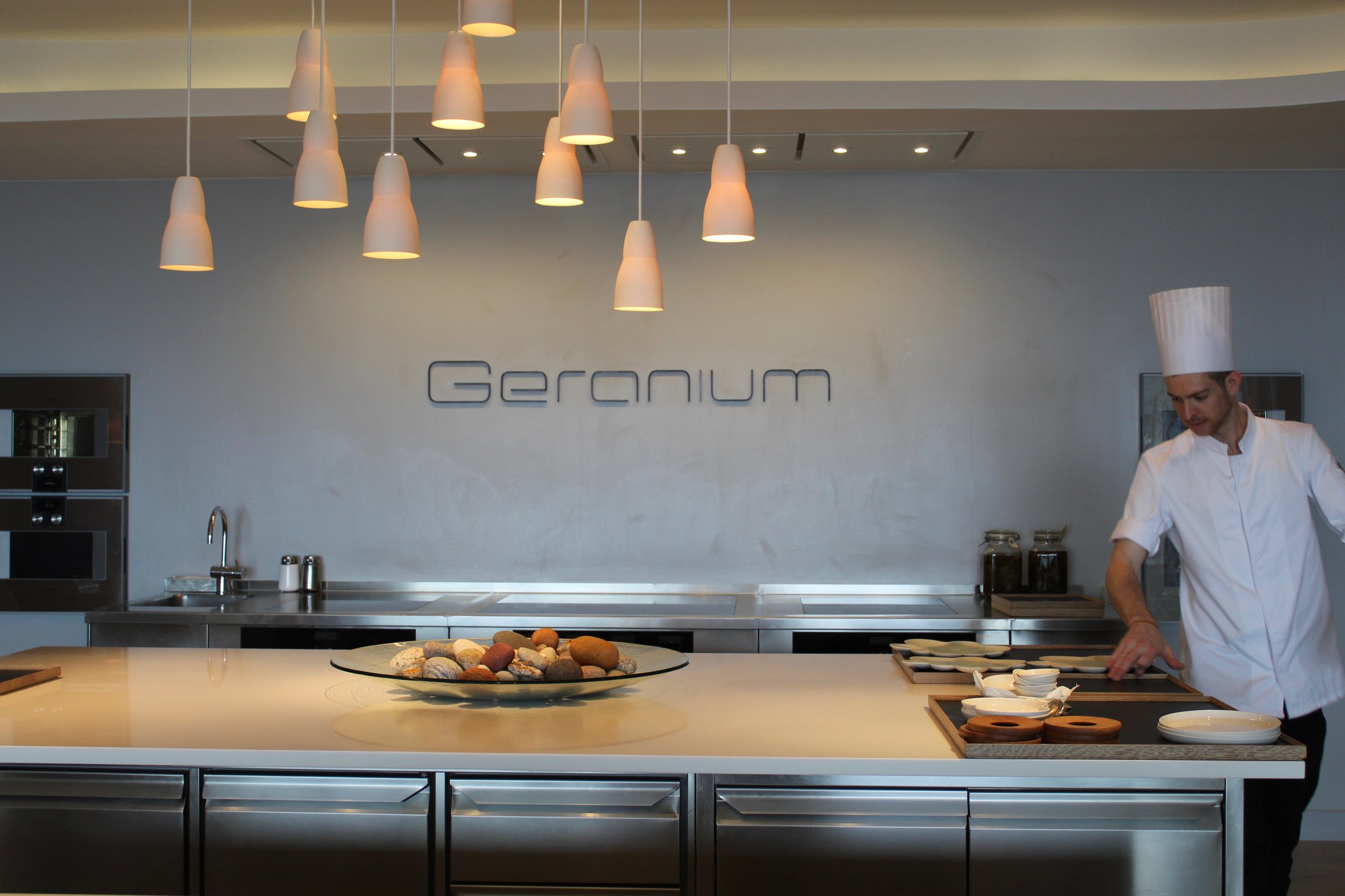 Go to Geranium, one of the top restaurants in the world, for a truly gastronomic experience