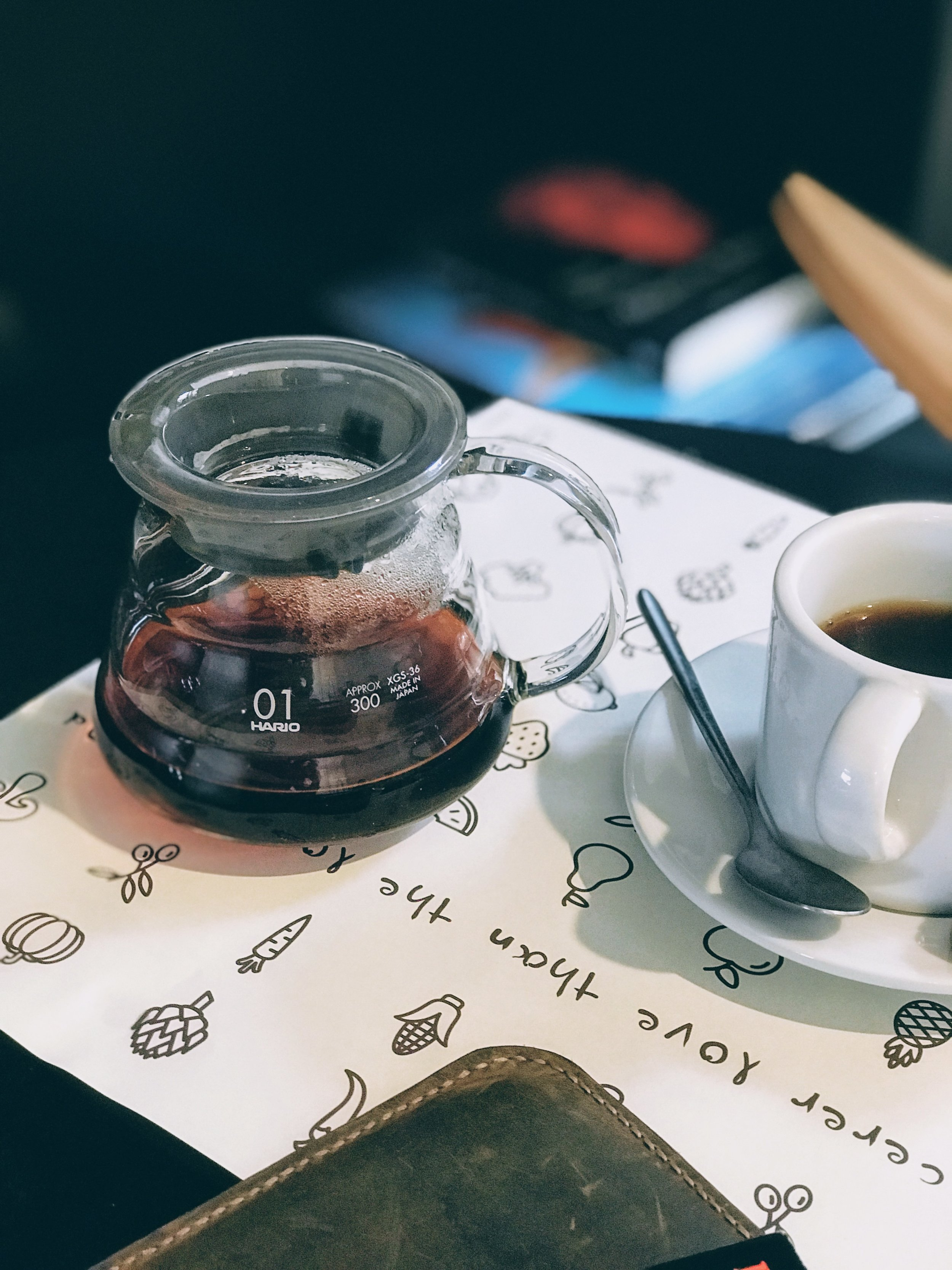 Slow dripper filter coffee