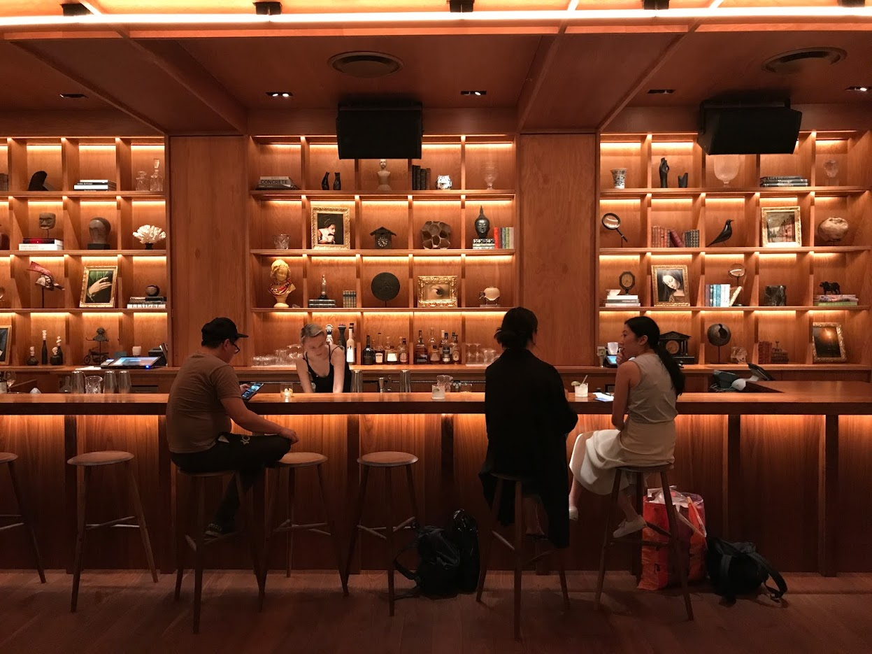 The lounge bar at PUBLIC