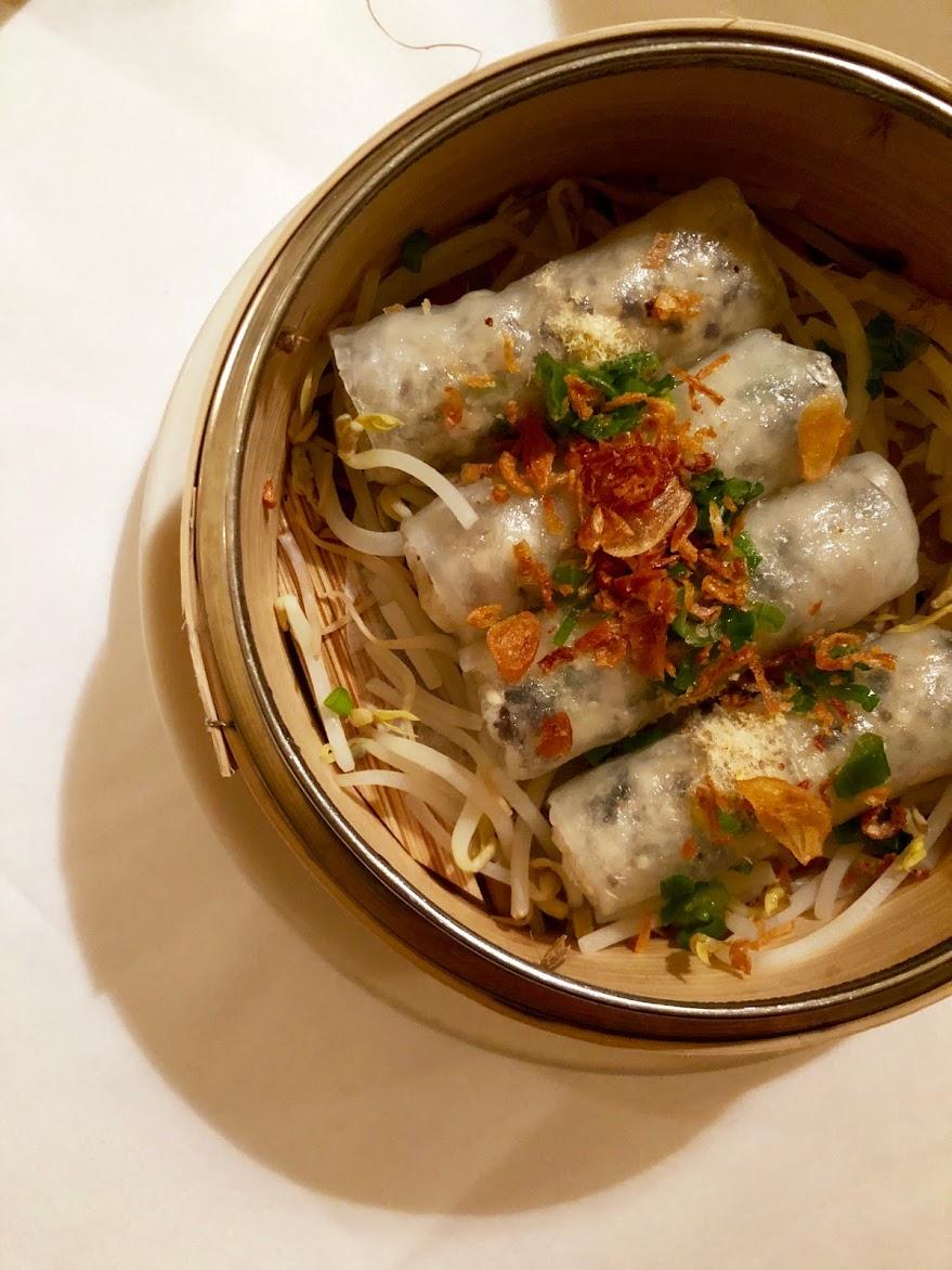 Steamed Vietnamese ravioli